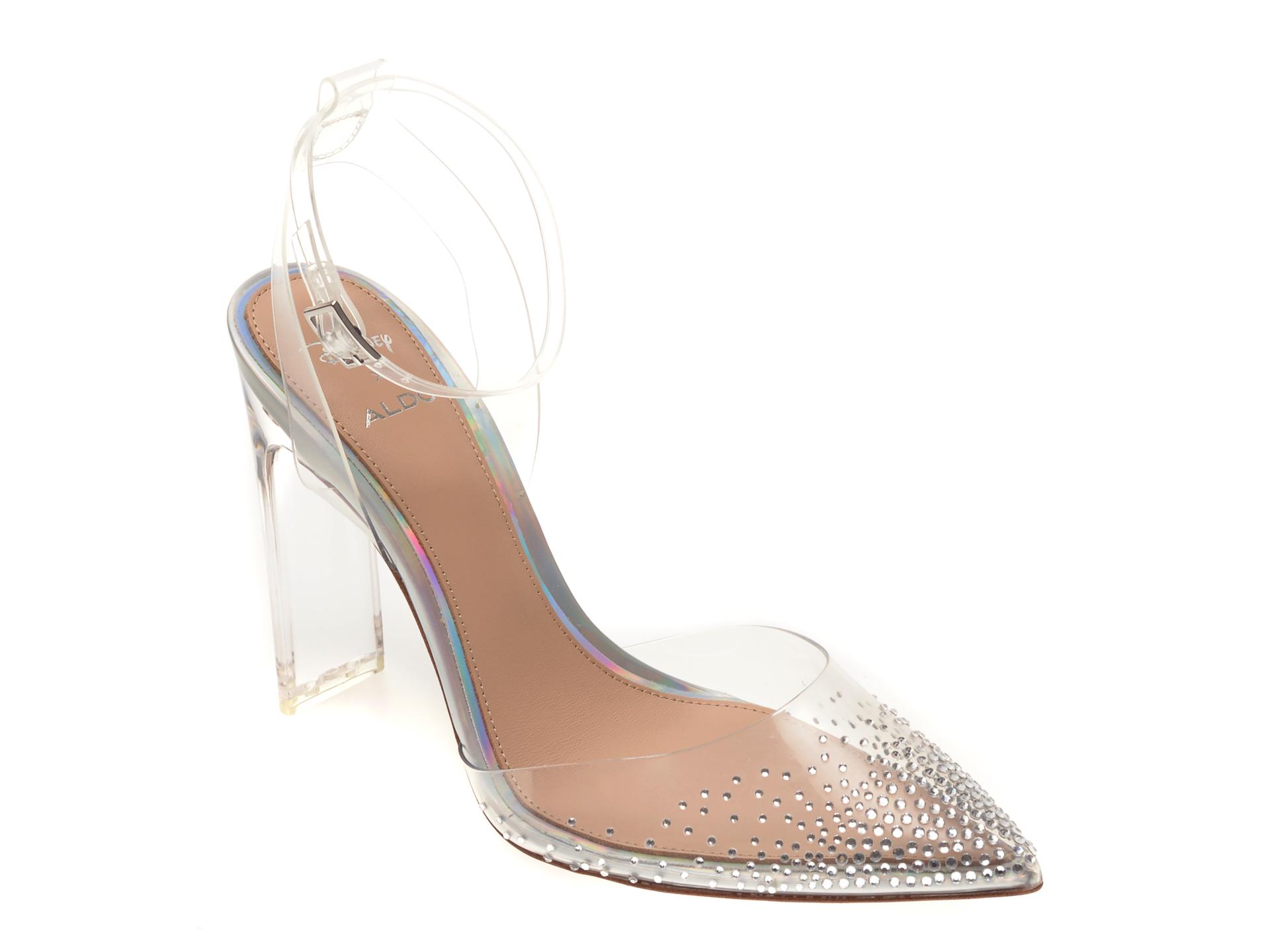 Pantofi ALDO, Glassslipper103, din PVC imagine otter.ro 2021