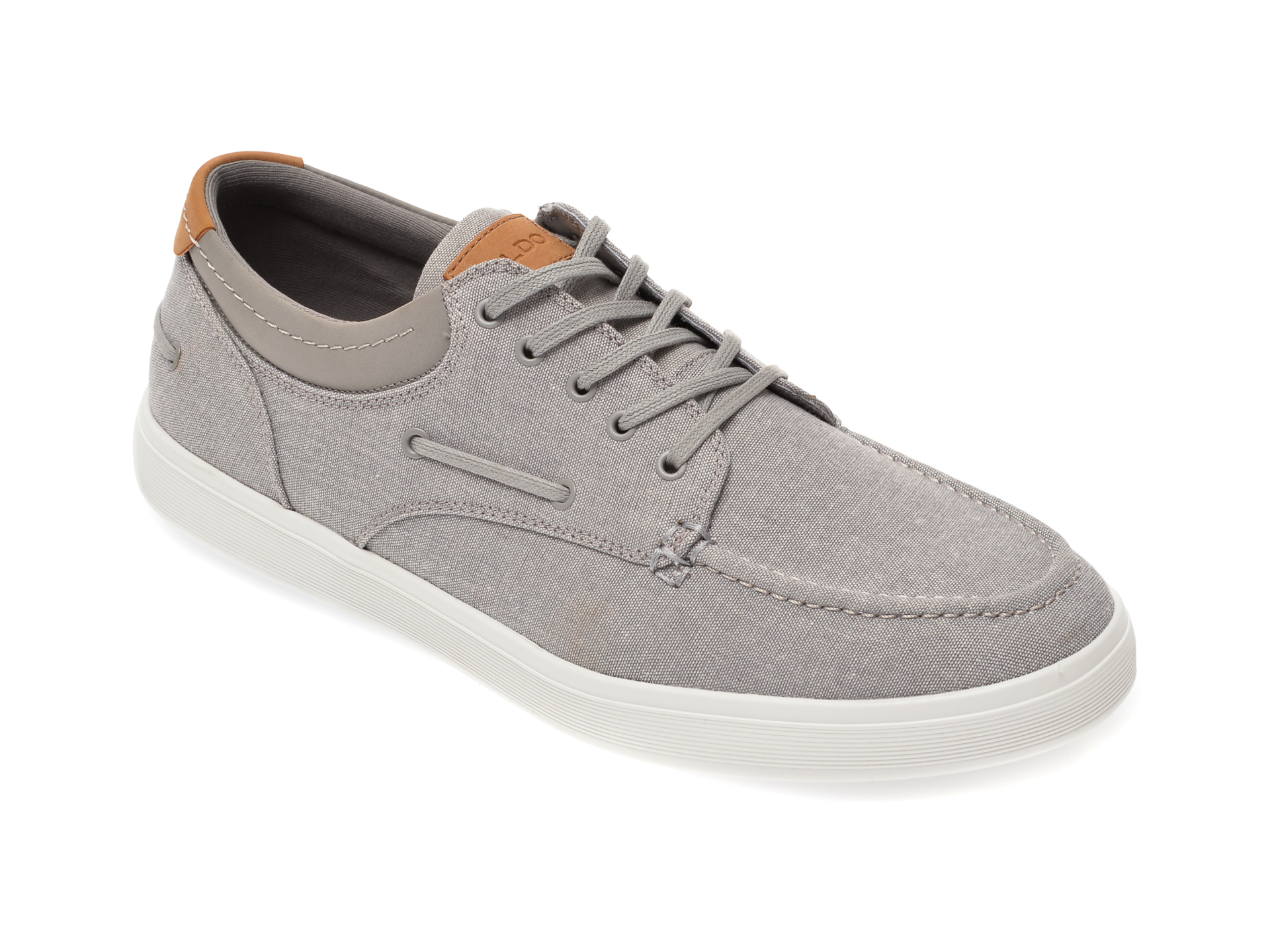 Pantofi ALDO gri, Bridleholme020, din material textil imagine
