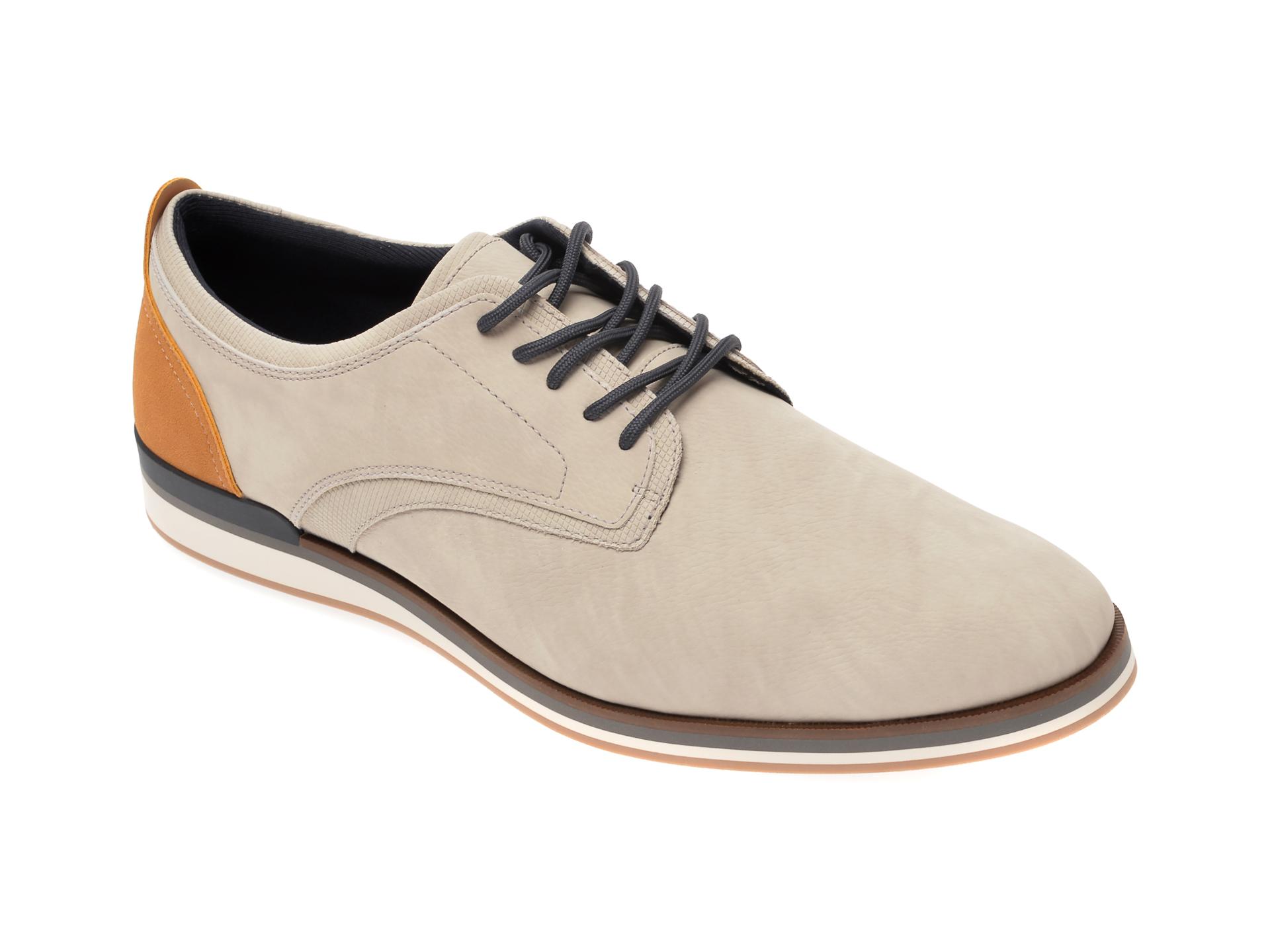 Pantofi ALDO gri, Eowoalian050, din piele ecologica imagine