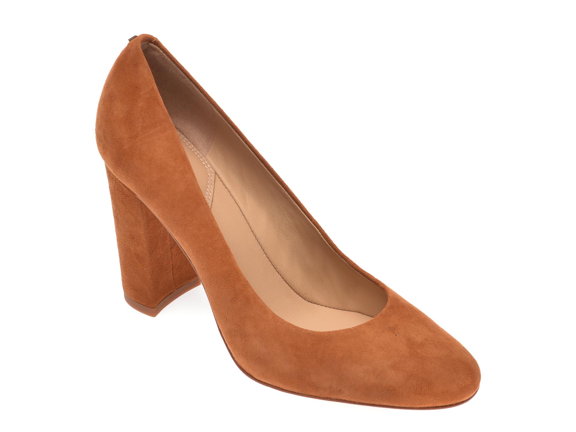 Pantofi ALDO maro, Aurelline210, din piele intoarsa