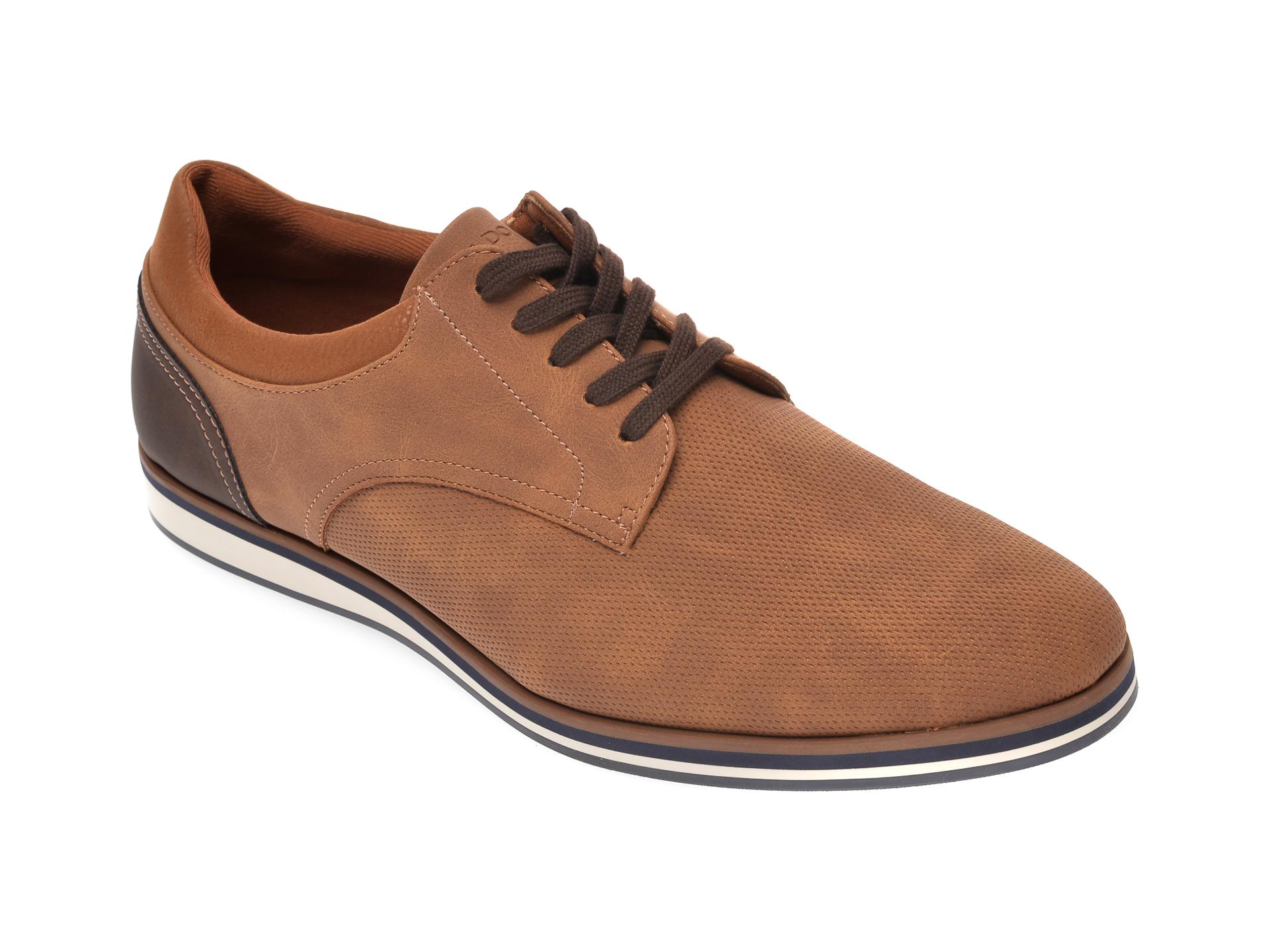 Pantofi ALDO maro, Cycia230, din piele ecologica imagine