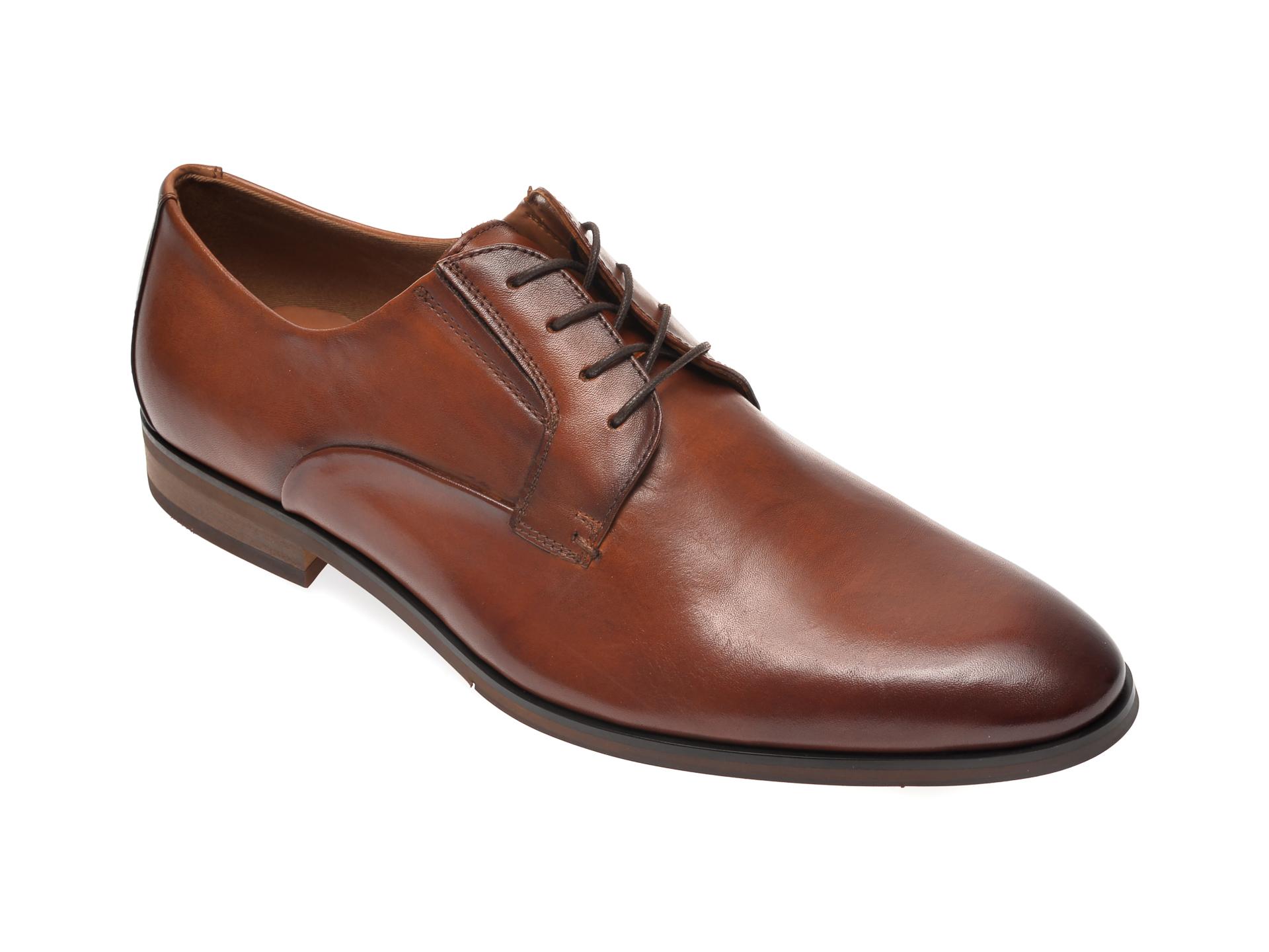 Pantofi ALDO maro, Eowelalian220, din piele naturala imagine