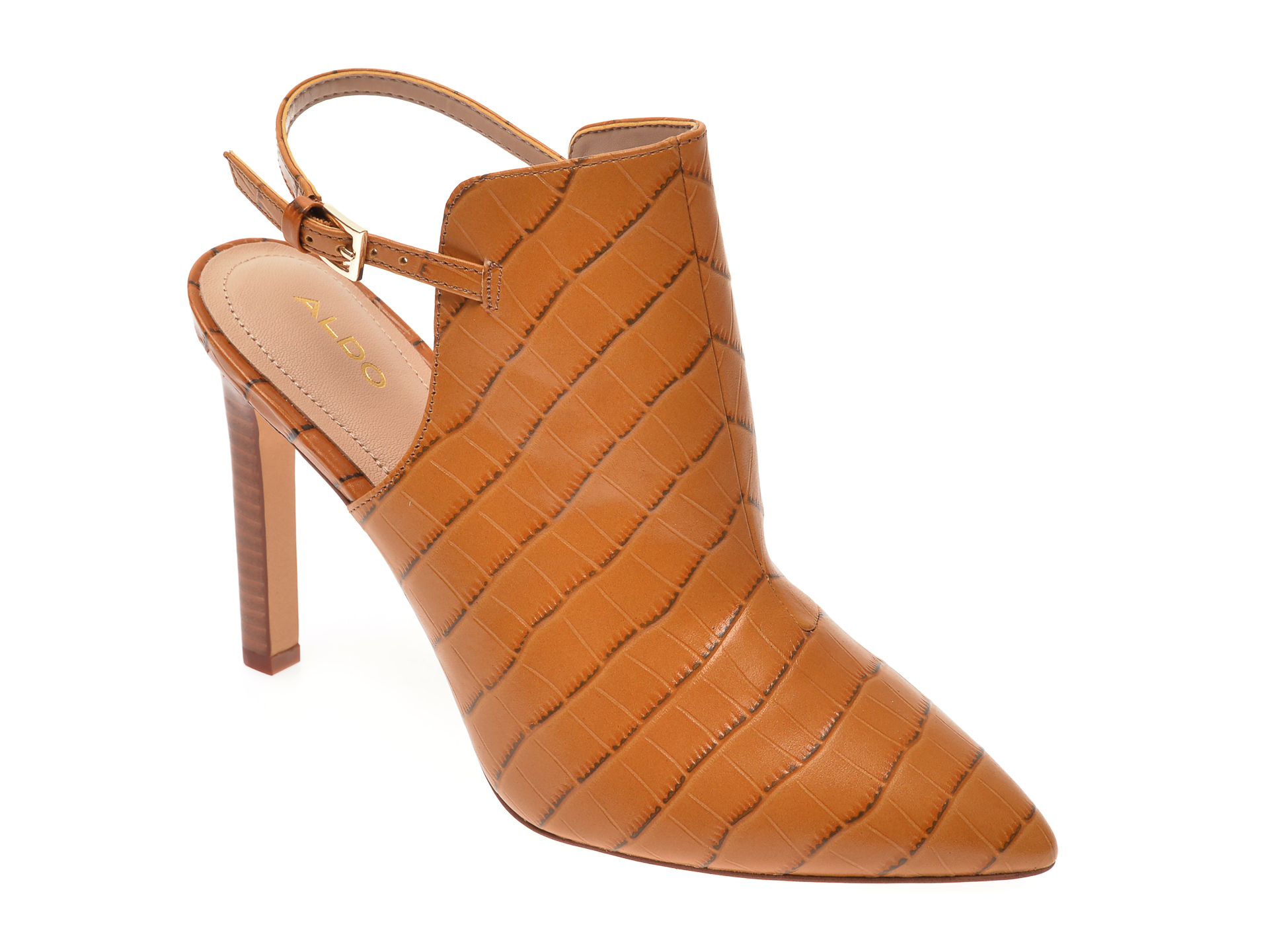 Pantofi ALDO maro, Firleigh220, din piele naturala imagine otter.ro