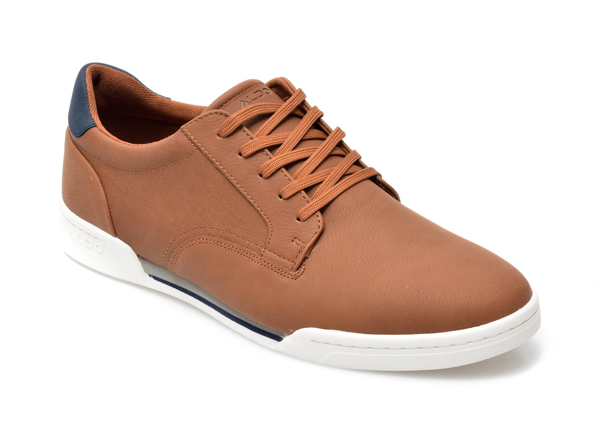Pantofi ALDO maro, Fradolian220, din piele ecologica