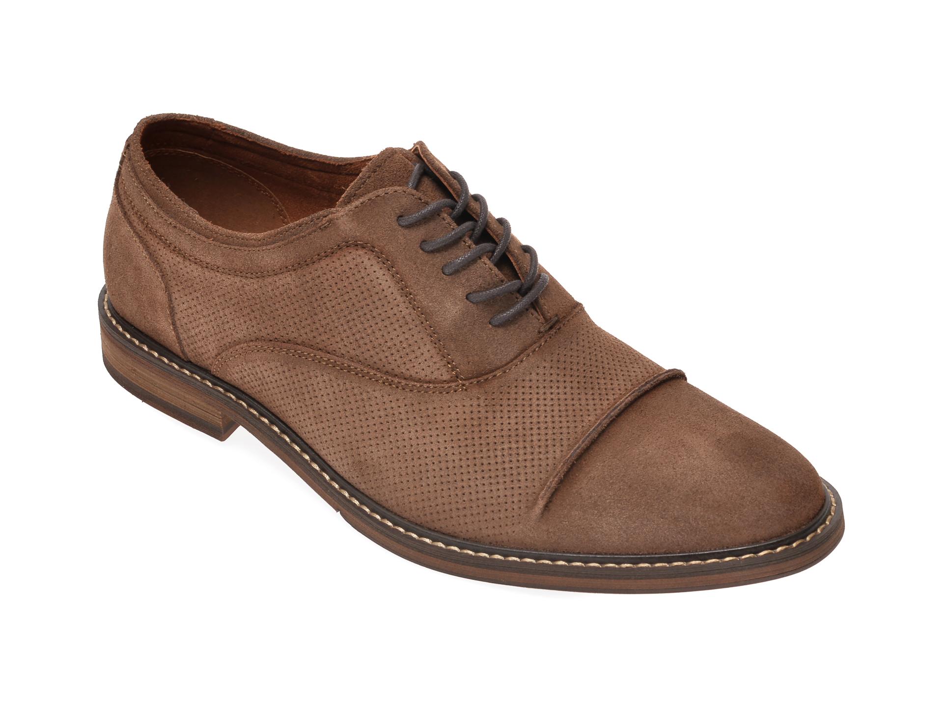 Pantofi ALDO maro, Hiller251, din piele intoarsa imagine