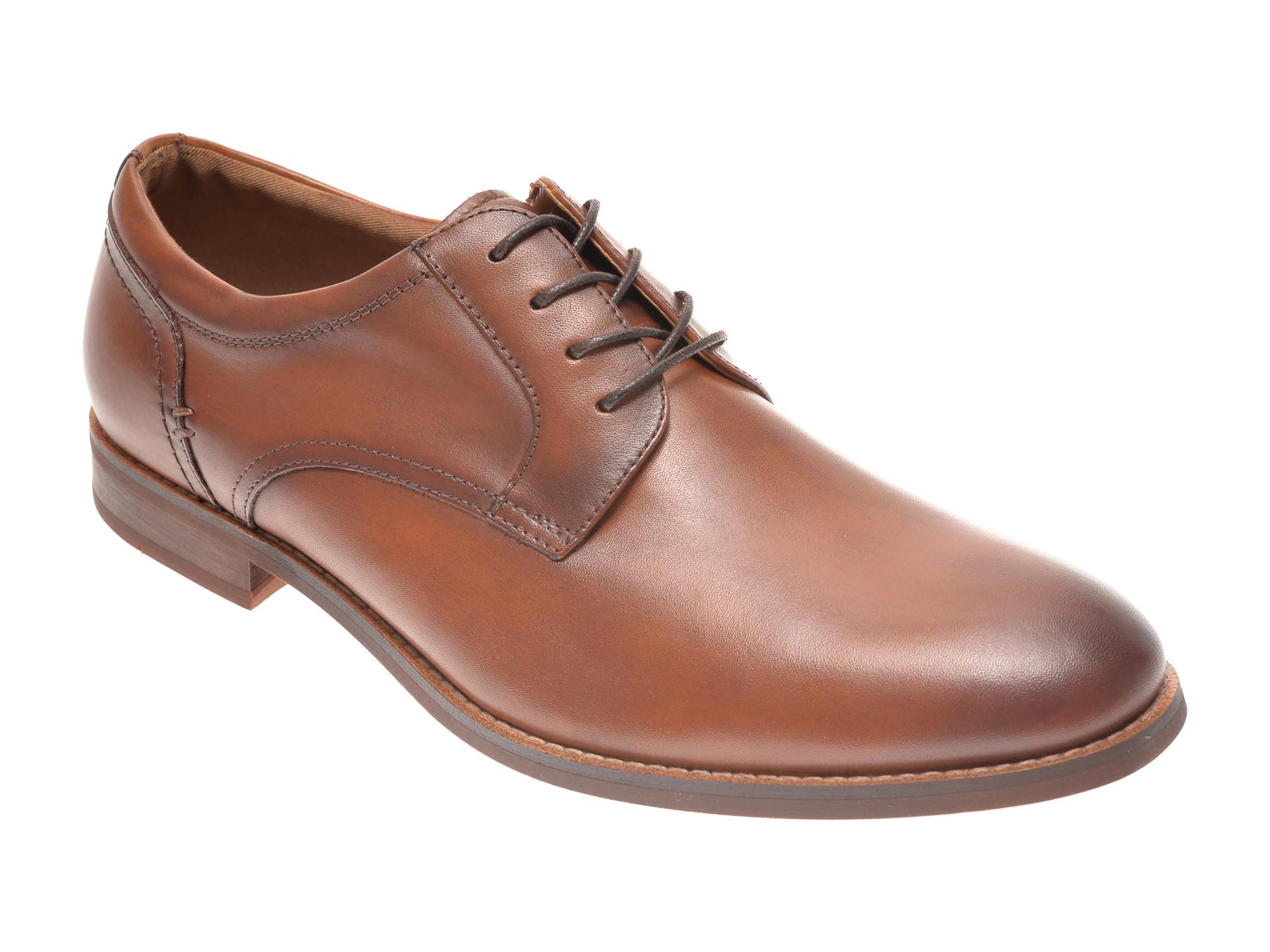 Pantofi ALDO maro, Loncroft220, din piele naturala imagine