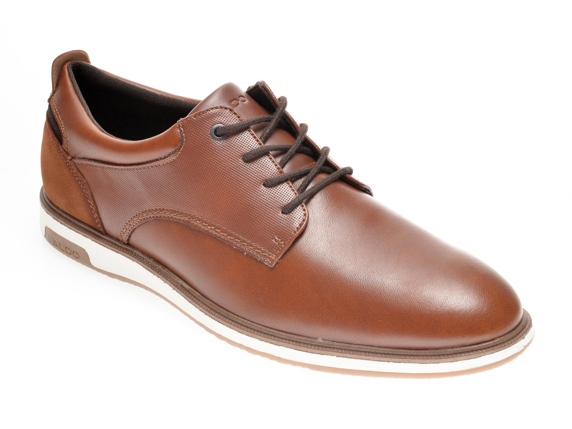Pantofi ALDO maro, Metropole220, din piele naturala imagine