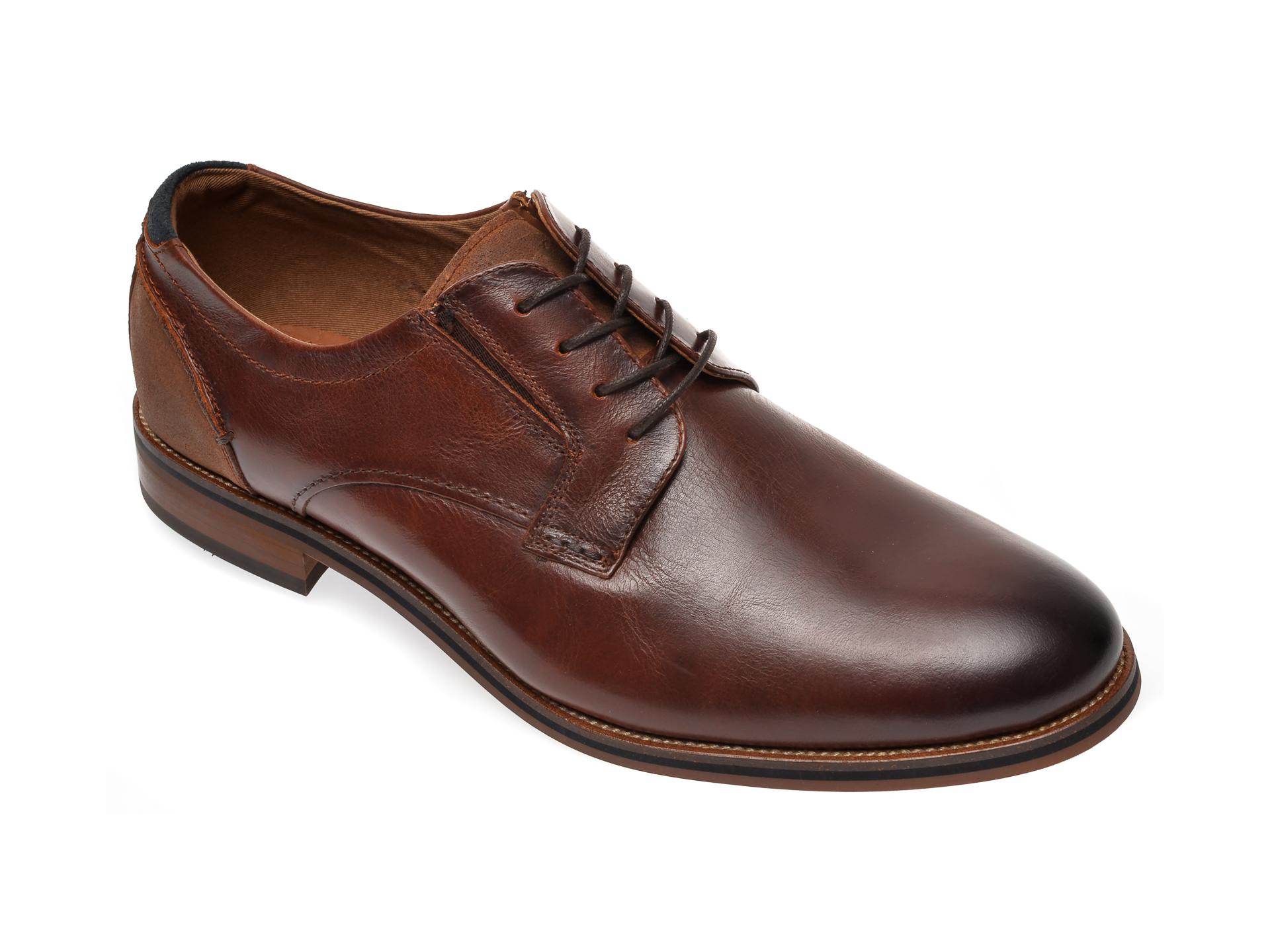 Pantofi ALDO maro, Murphy220, din piele naturala imagine