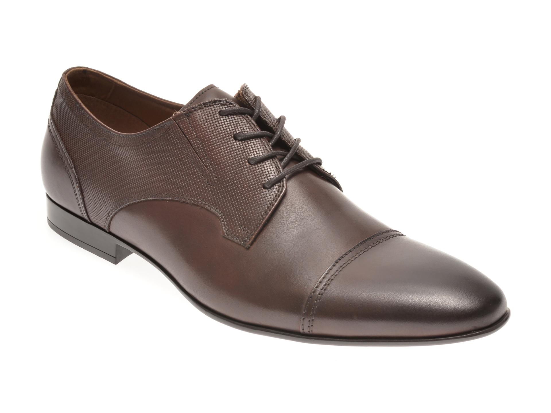 Pantofi ALDO maro, Neustetten201, din piele naturala imagine