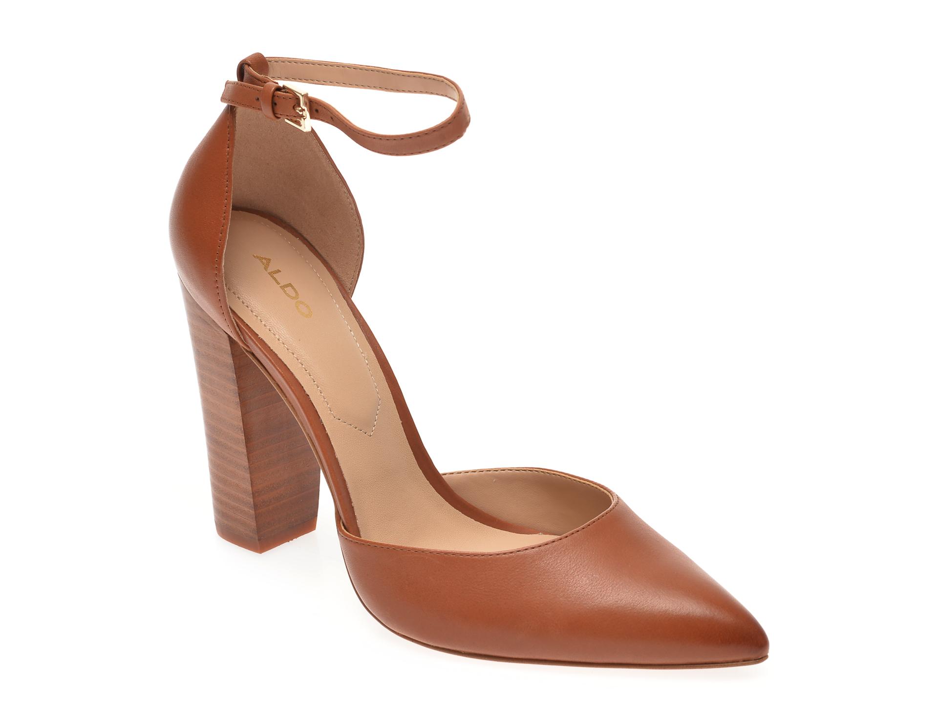 Pantofi ALDO maro, Nicholesd220, din piele naturala imagine otter.ro
