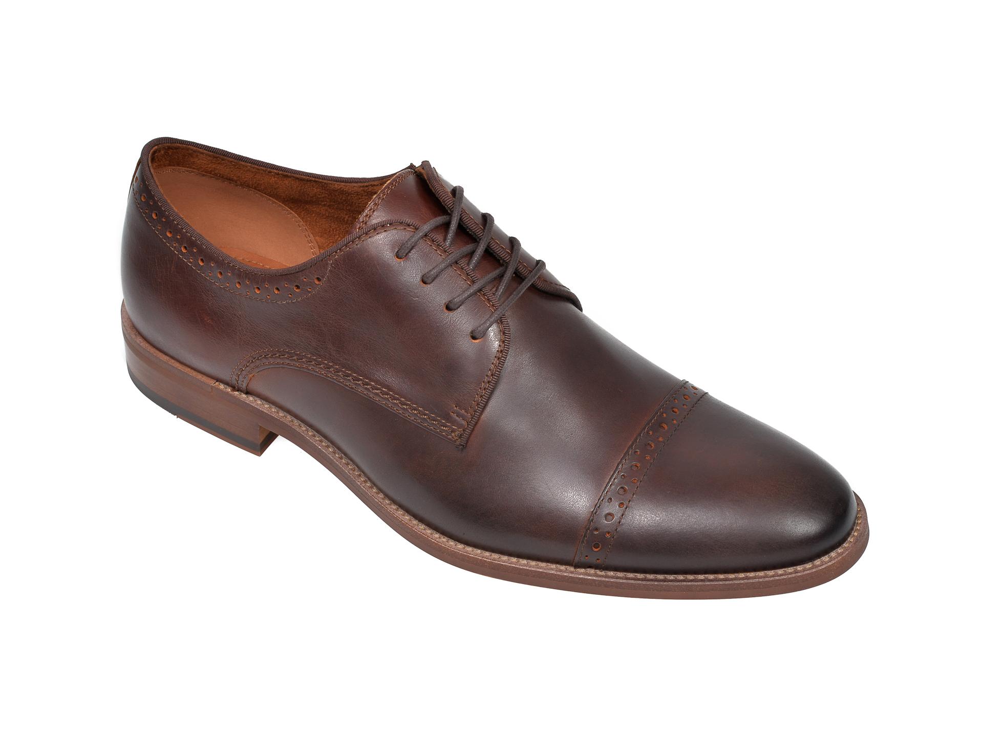 Pantofi ALDO maro, Nydeisien220, din piele naturala imagine