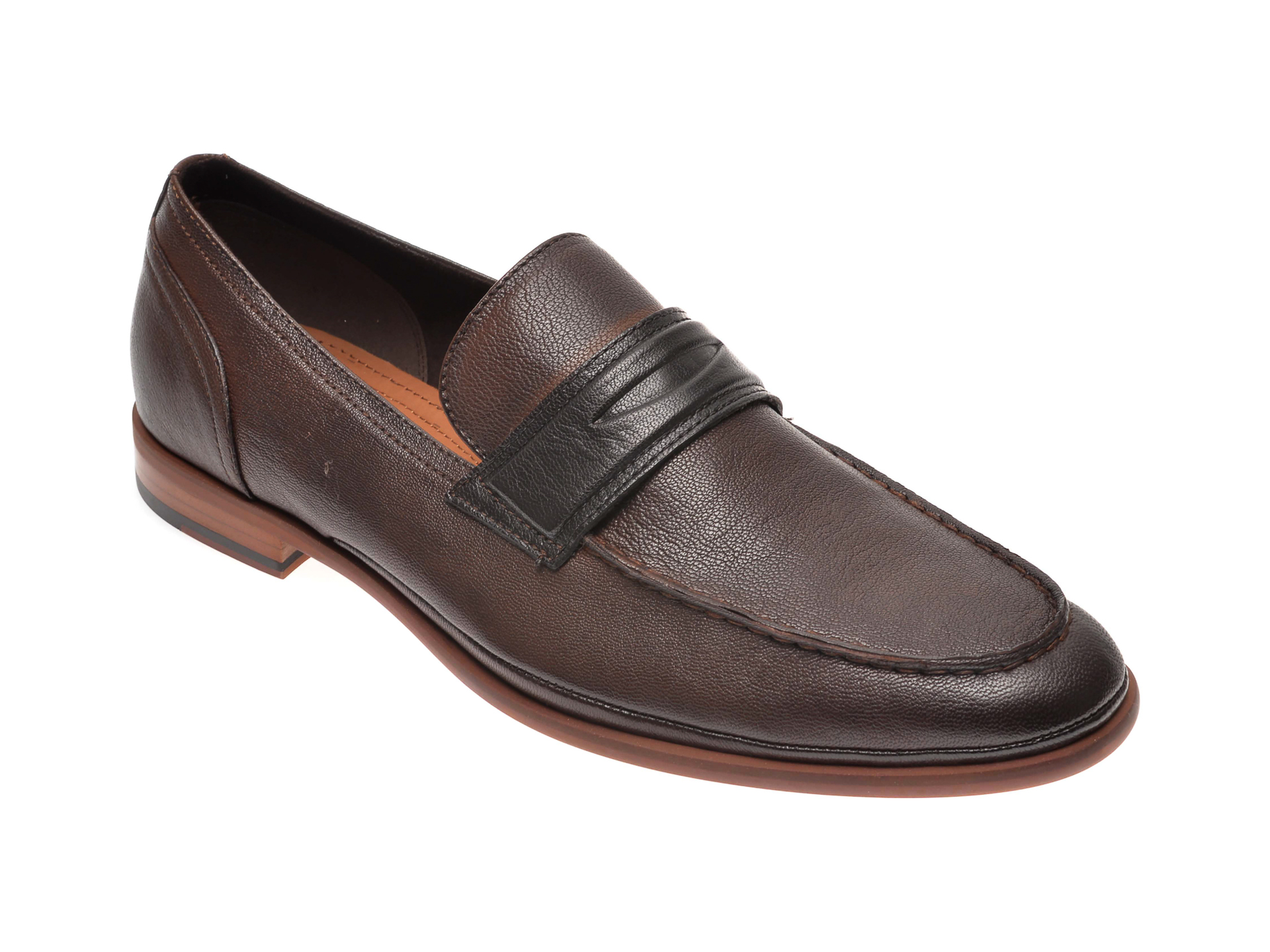 Pantofi ALDO maro, Prelima201, din piele naturala imagine