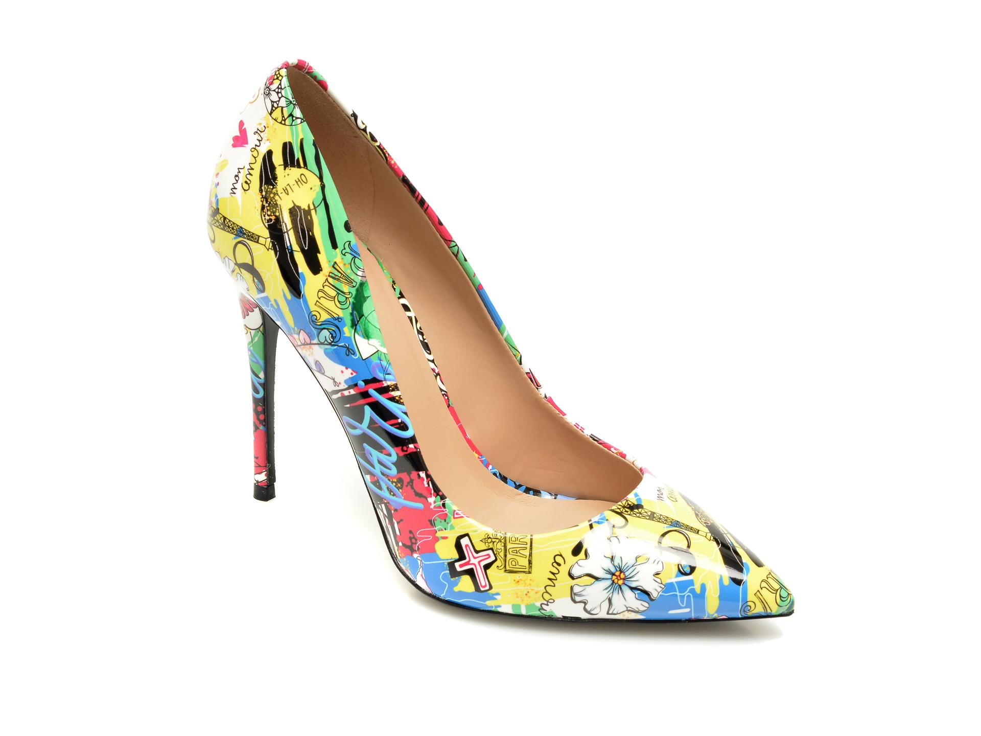 Pantofi ALDO multicolor, Stessy_960, din piele ecologica