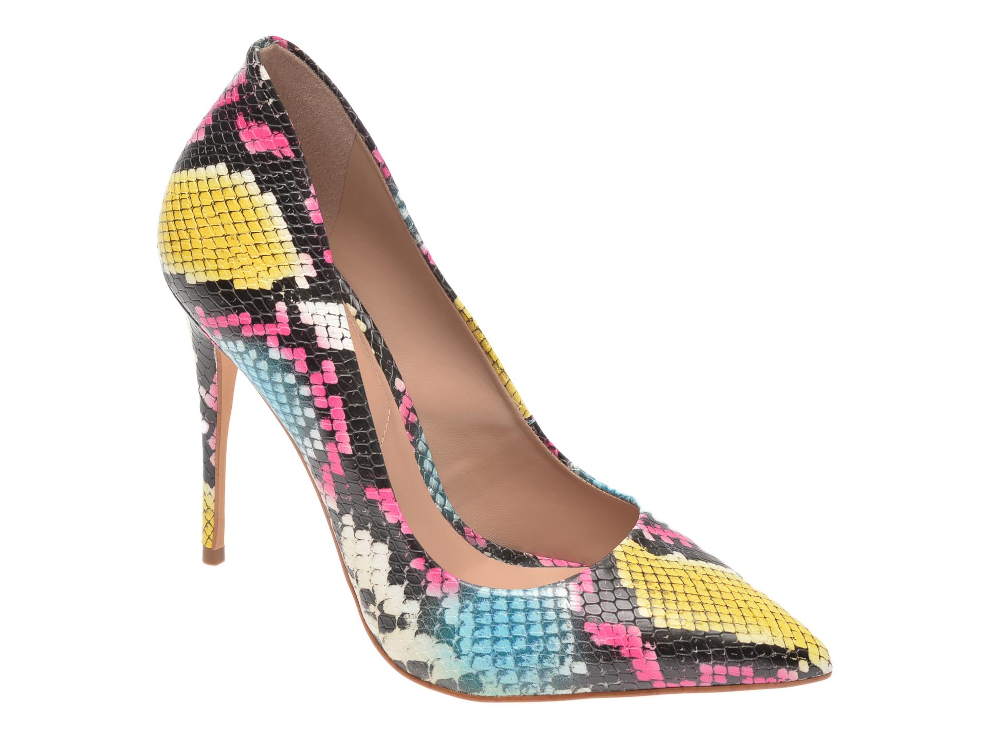 Pantofi ALDO multicolori, Cassedy961, din piele ecologica imagine otter.ro