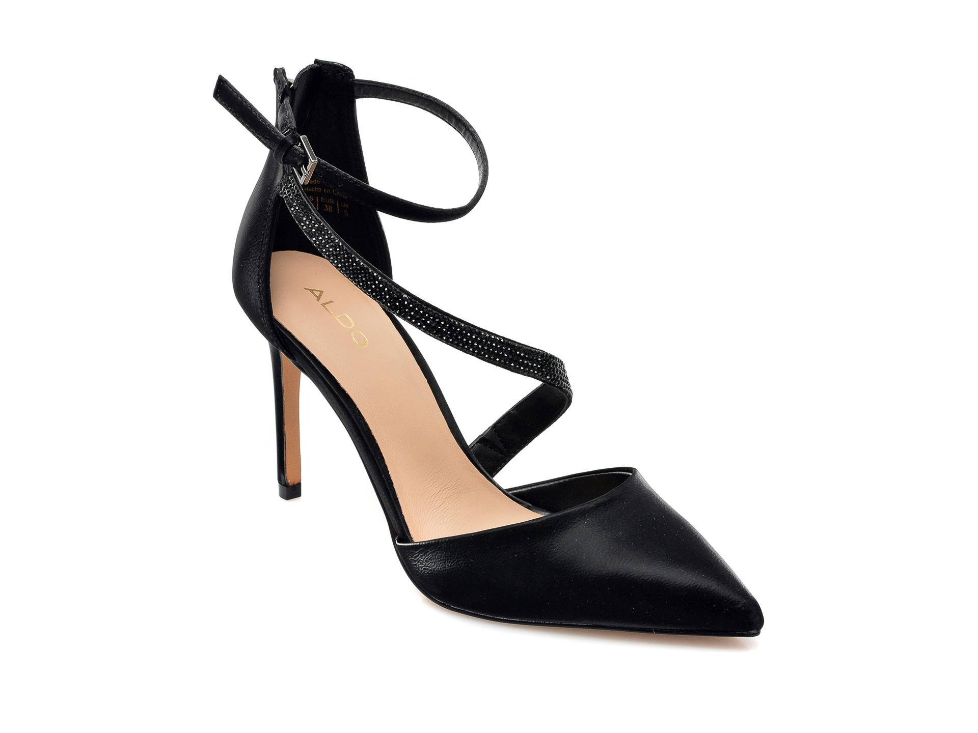 Pantofi ALDO negri, 13200407, din piele ecologica imagine otter.ro
