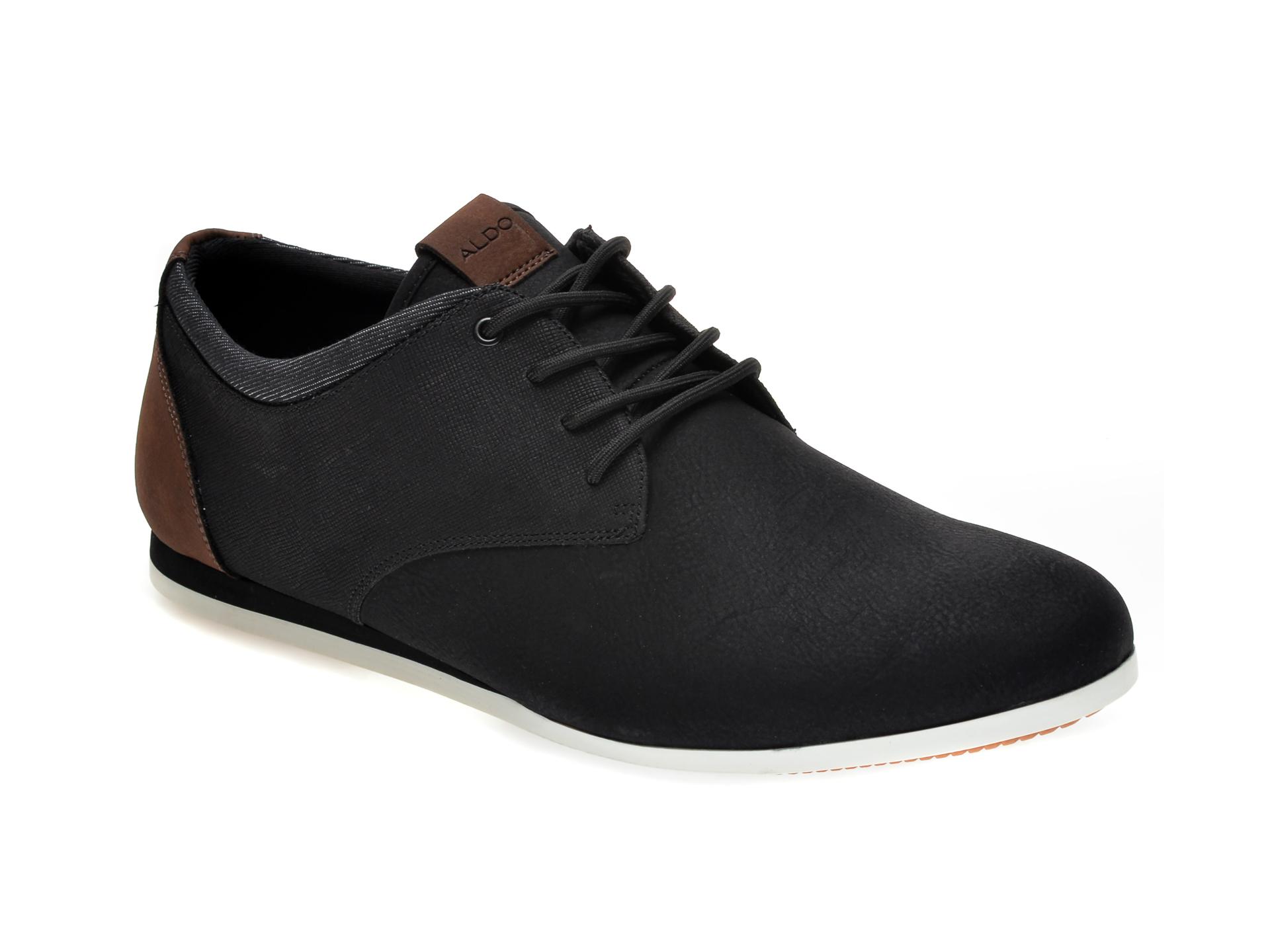 Pantofi ALDO negri, Aauwen-R007, din piele ecologica imagine