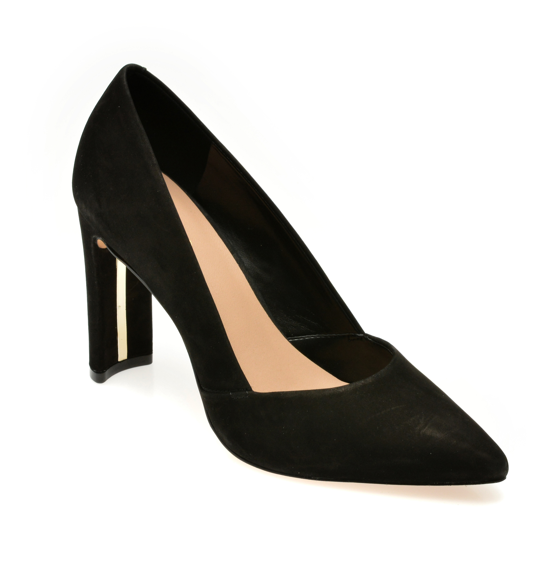 Pantofi ALDO negri, Adworen001, din nabuc imagine otter.ro