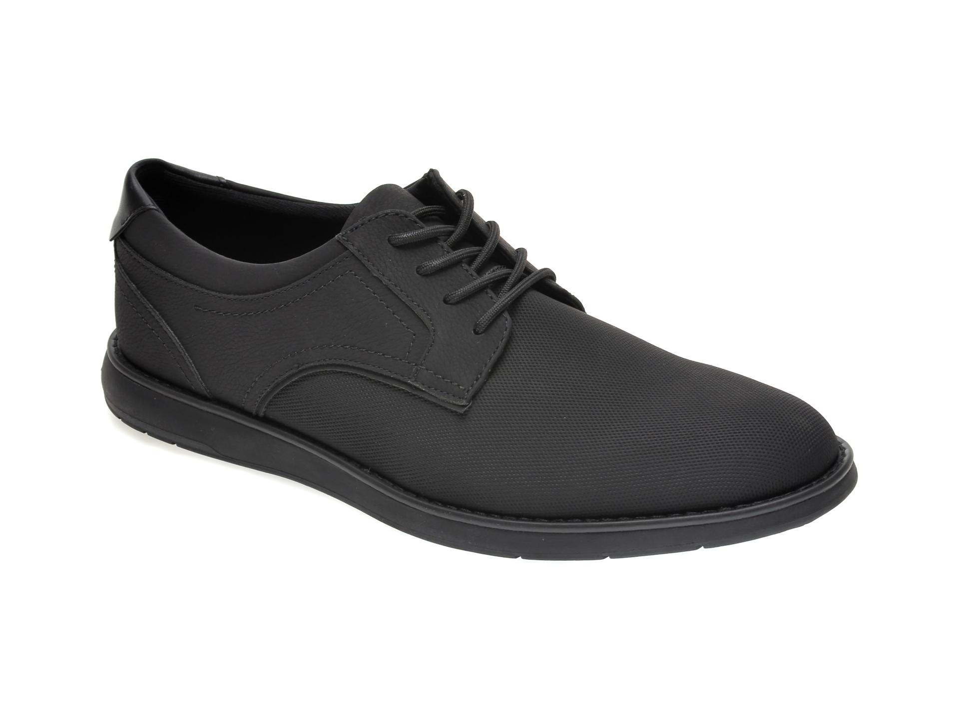 Pantofi ALDO negri, Audanneflex004, din piele ecologica imagine