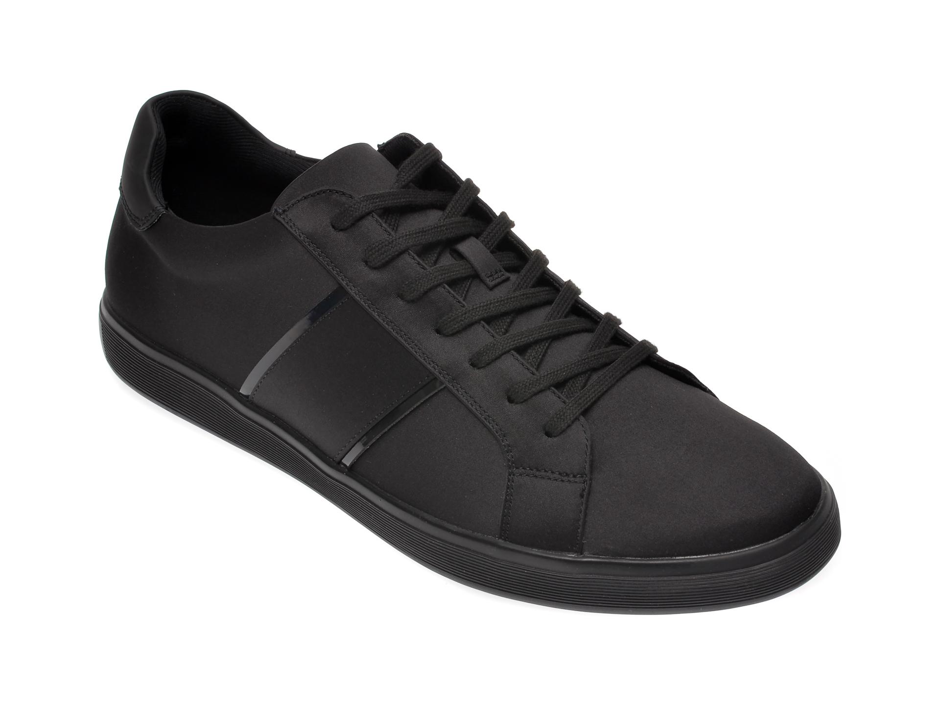 Pantofi ALDO negri, Cowien001, din material textil