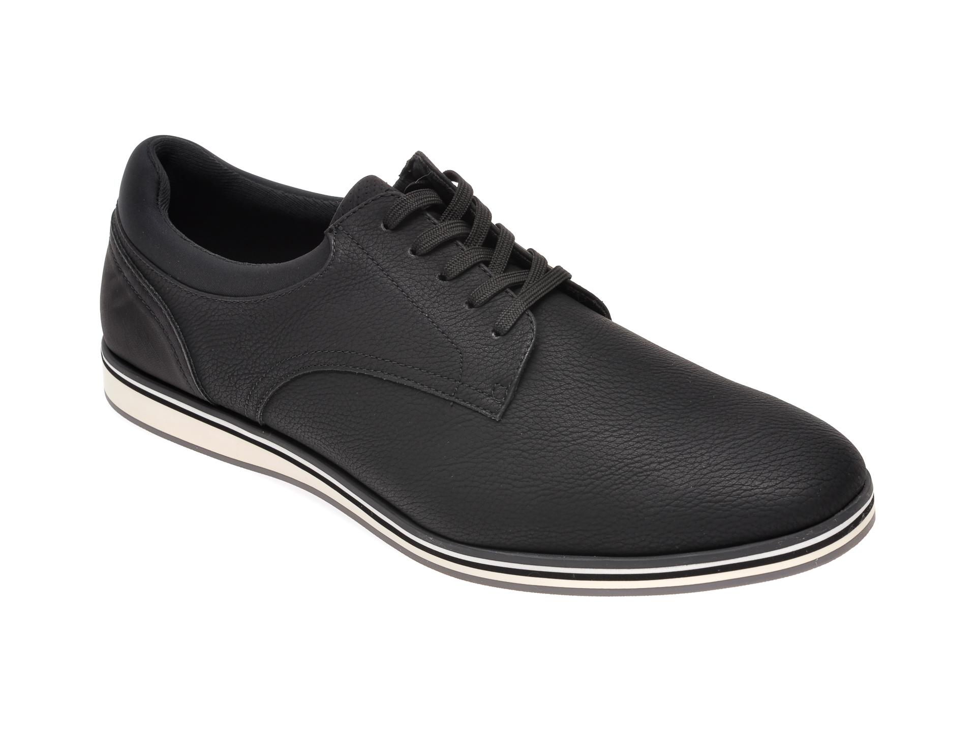 Pantofi ALDO negri, Cycia001, din piele ecologica imagine