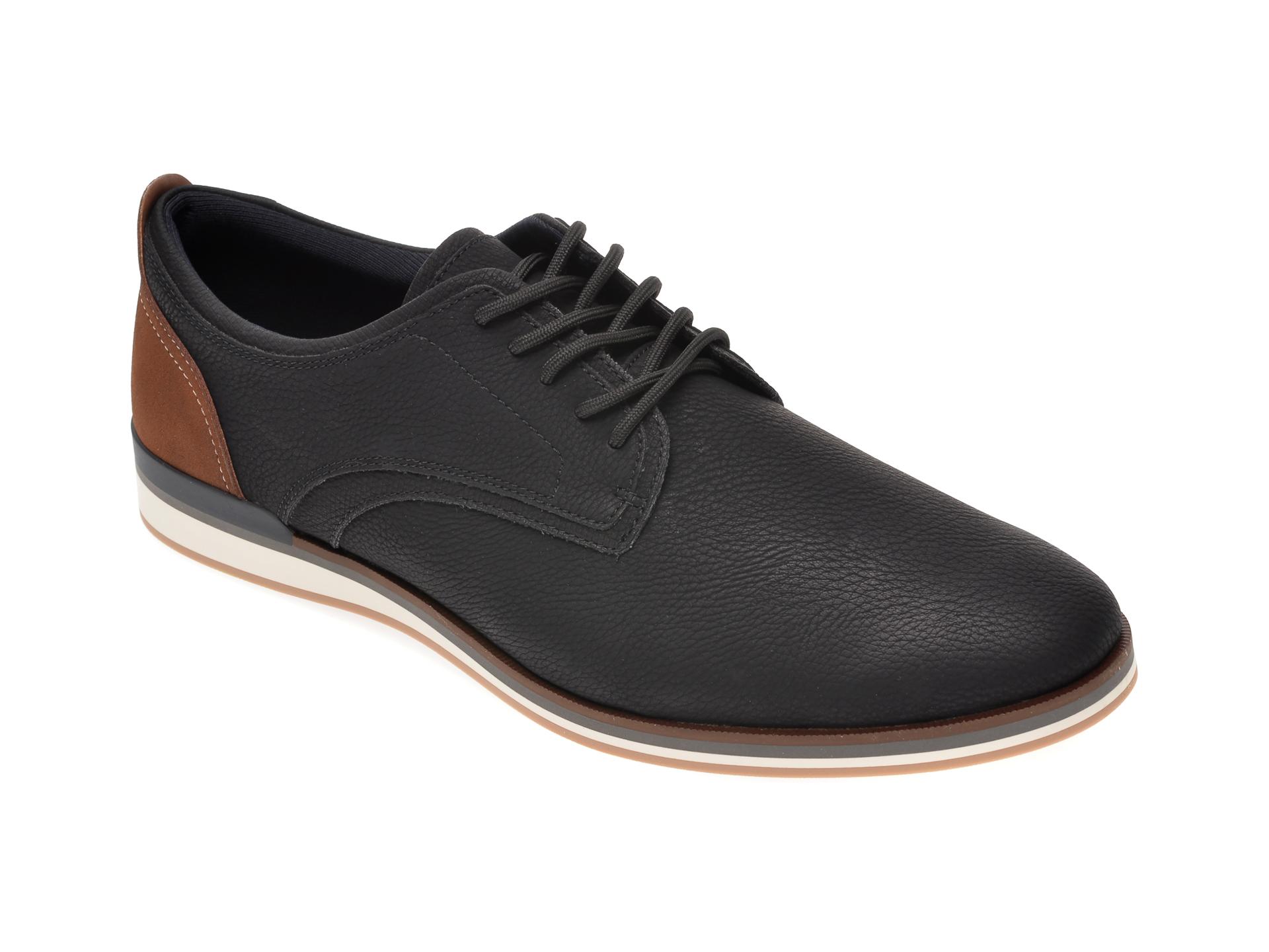 Pantofi ALDO negri, Eowoalian001, din piele ecologica imagine
