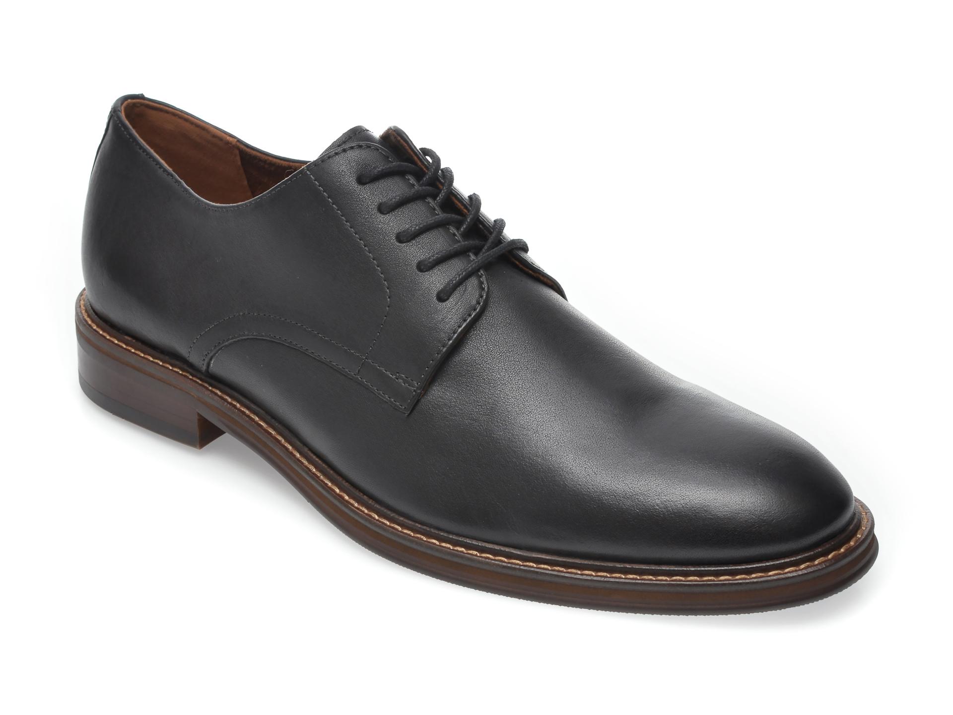 Pantofi ALDO negri, Evan001, din piele naturala imagine
