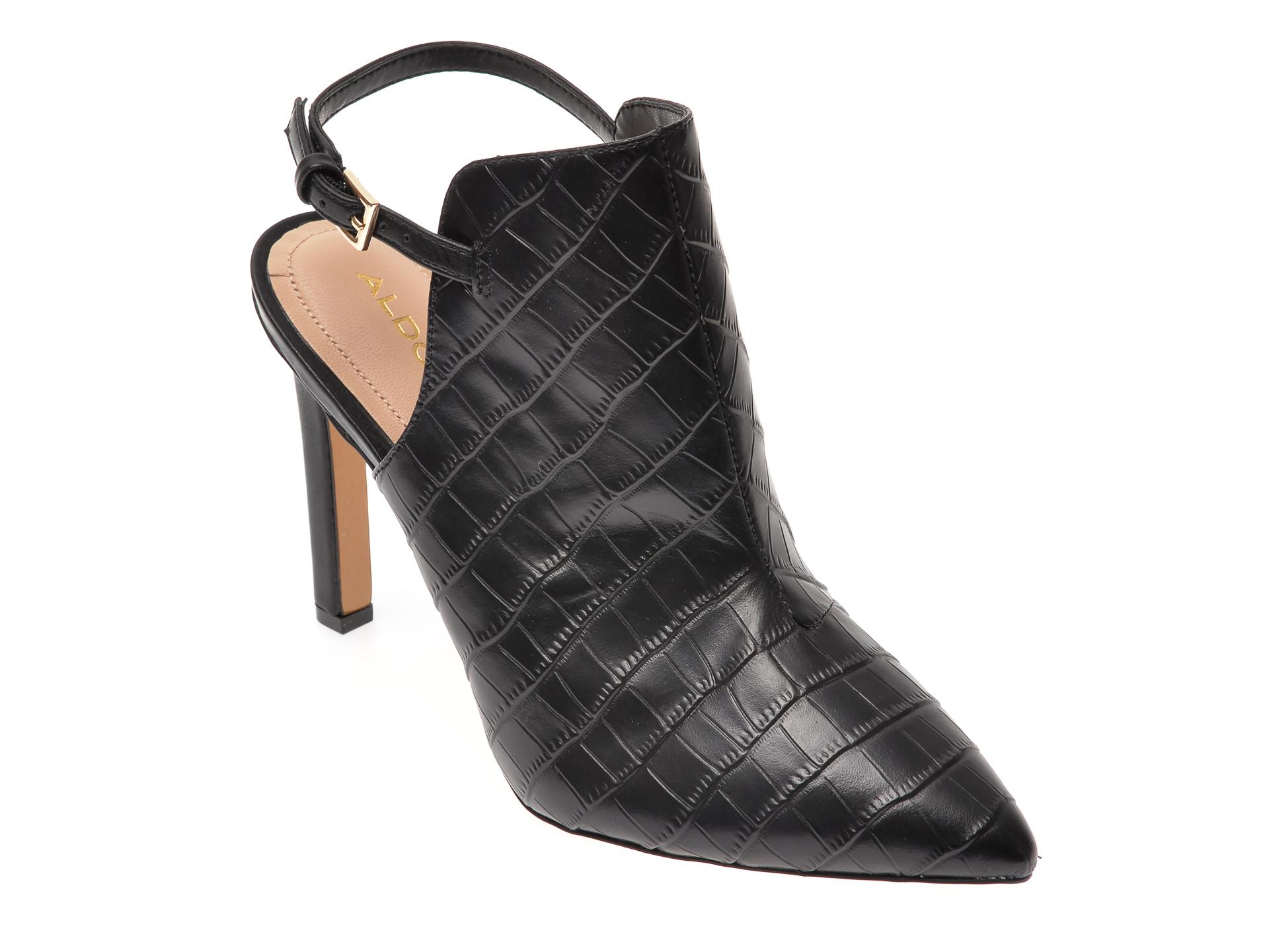 Pantofi ALDO negri, Firleigh007, din piele naturala