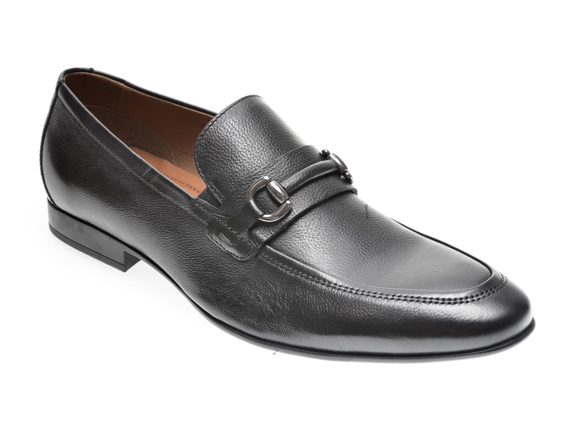 Pantofi ALDO negri, Jijaws001, din piele naturala imagine