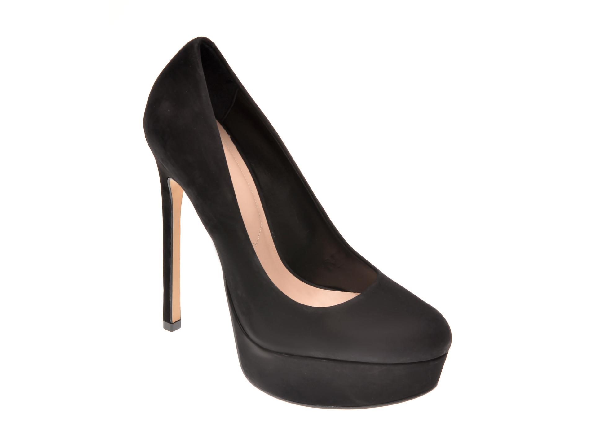 Pantofi ALDO negri, Kassandra001, din nabuc imagine otter.ro 2021