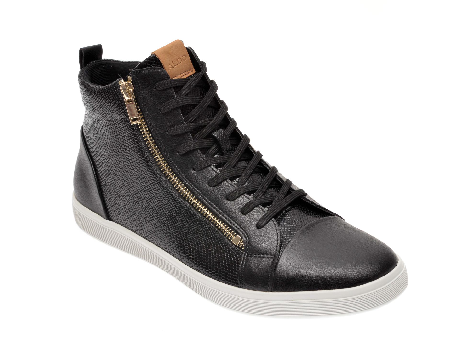 Pantofi ALDO negri, Kelston001, din piele ecologica imagine