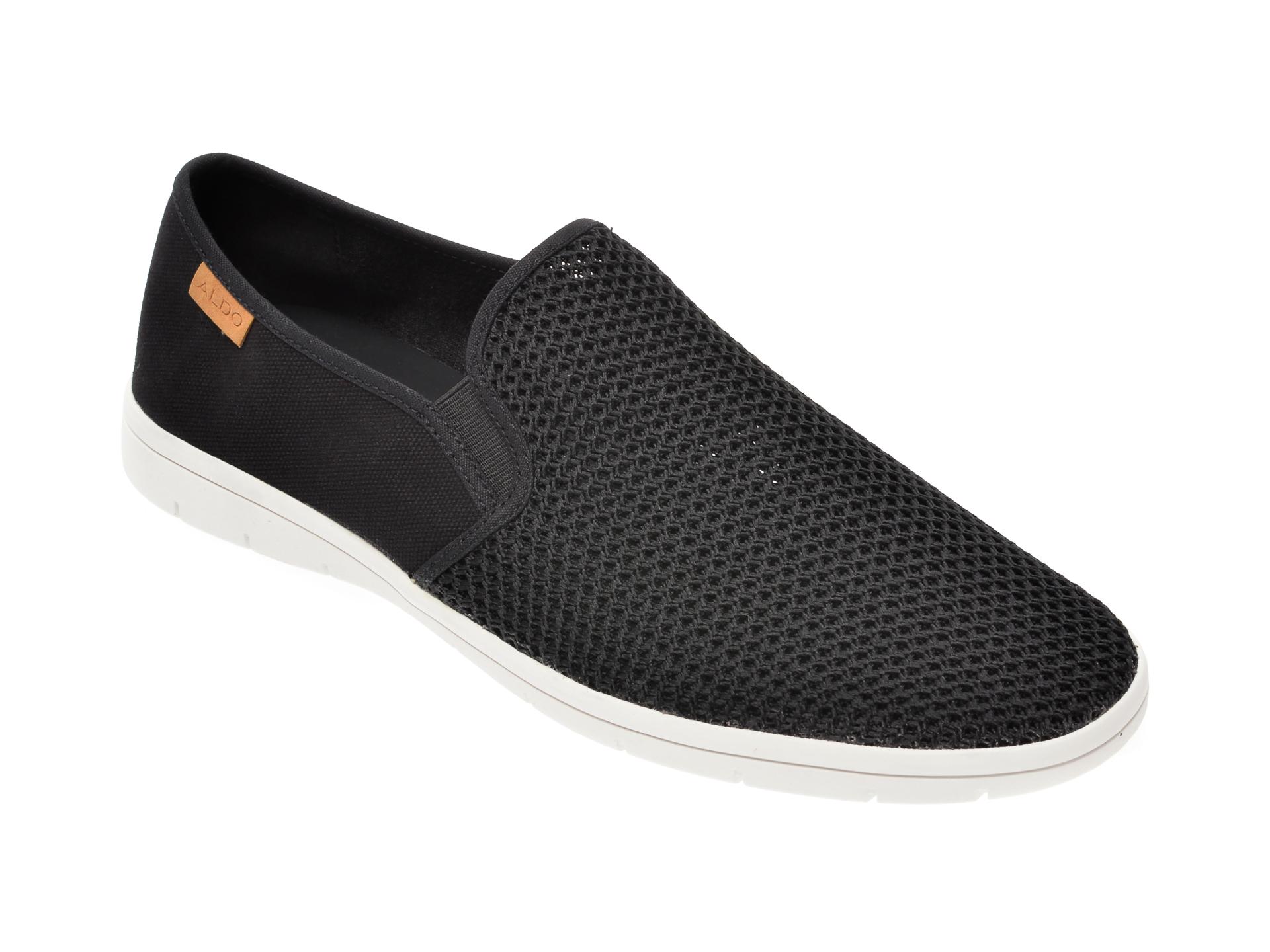 Pantofi ALDO negri, Liberace001, din material textil imagine