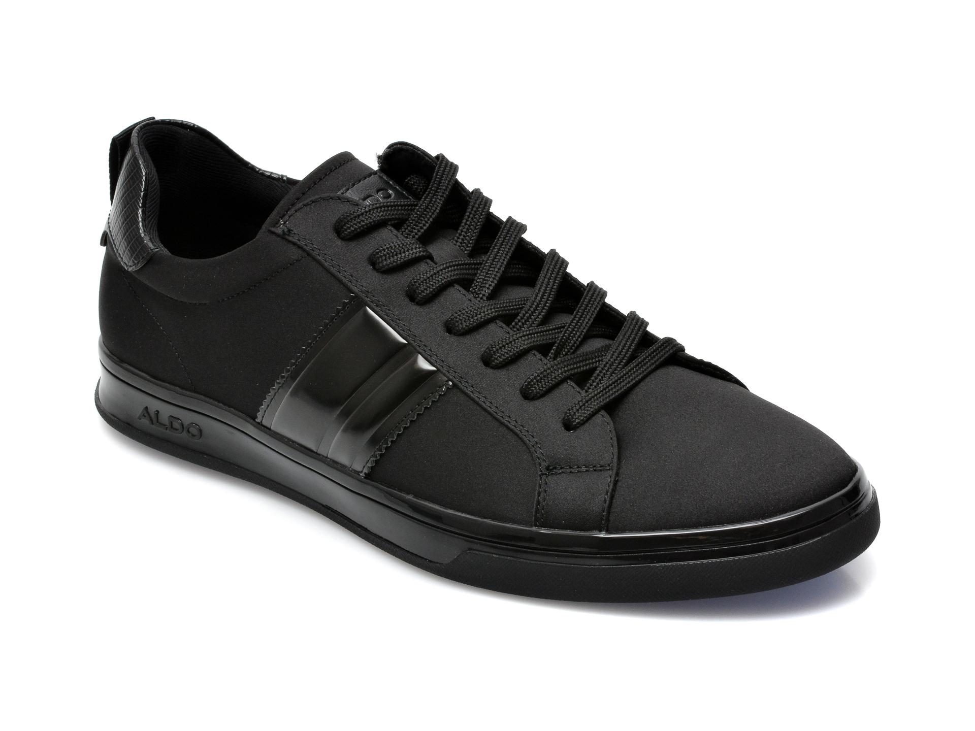 Pantofi ALDO negri, Malisien001, din material textil si piele ecologica imagine otter.ro 2021