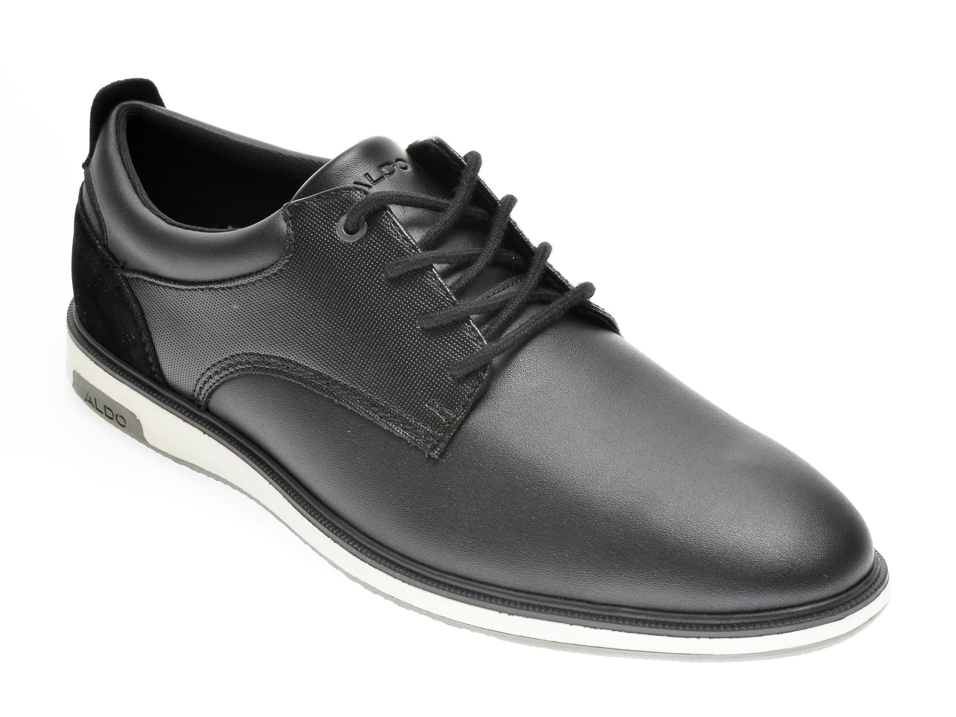 Pantofi ALDO negri, Metropole001, din piele naturala