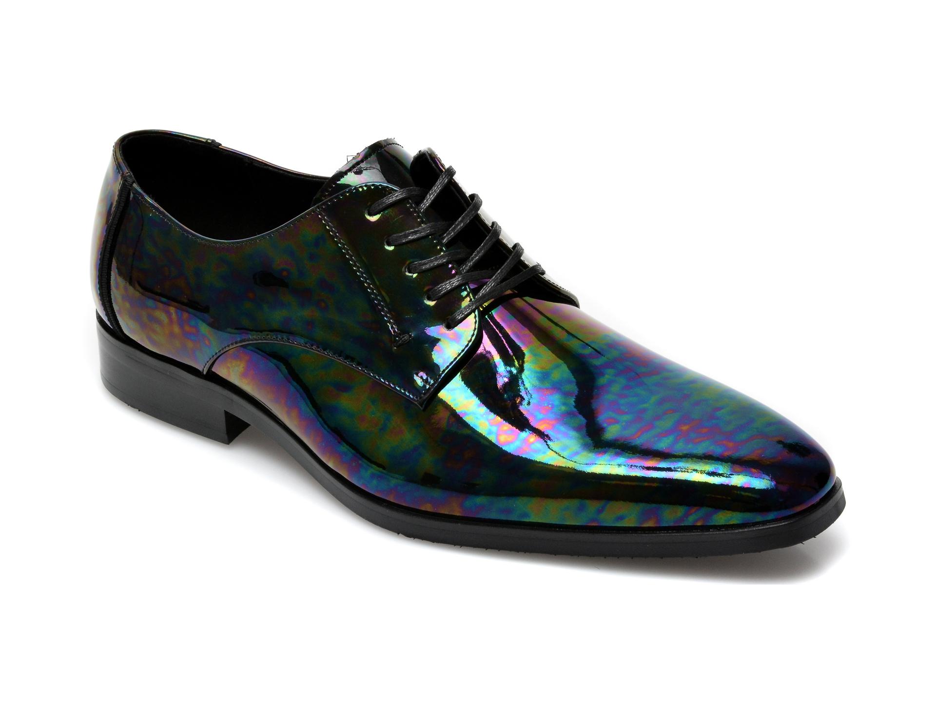 Pantofi ALDO negri, Montecassino001, din piele naturala lacuita imagine otter.ro 2021