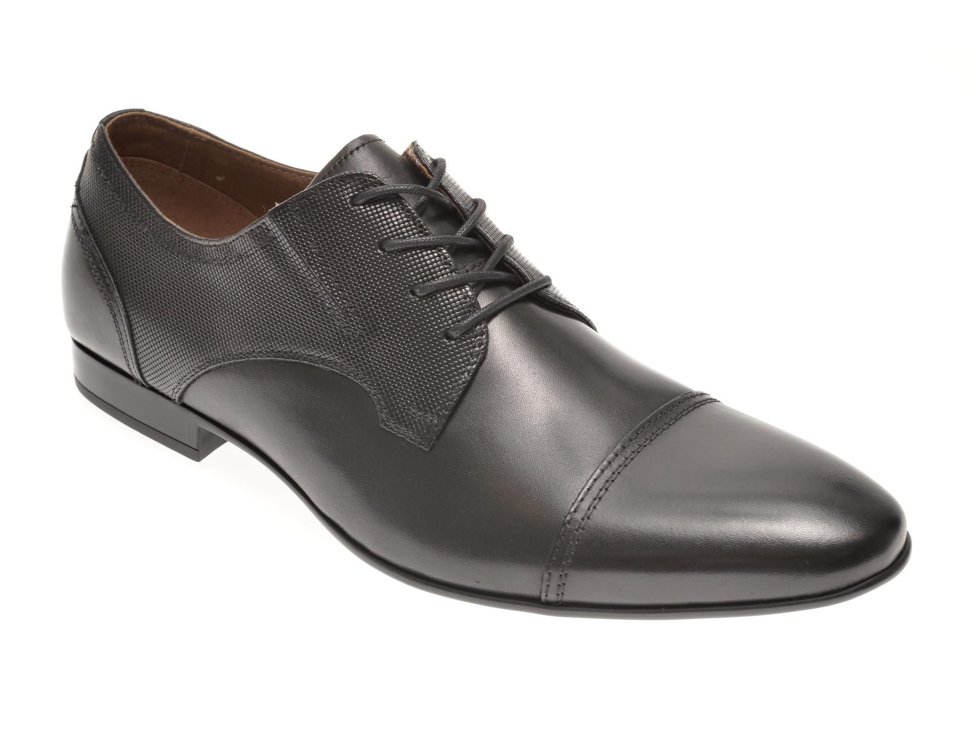 Pantofi ALDO negri, Neustetten001, din piele naturala imagine otter.ro 2021