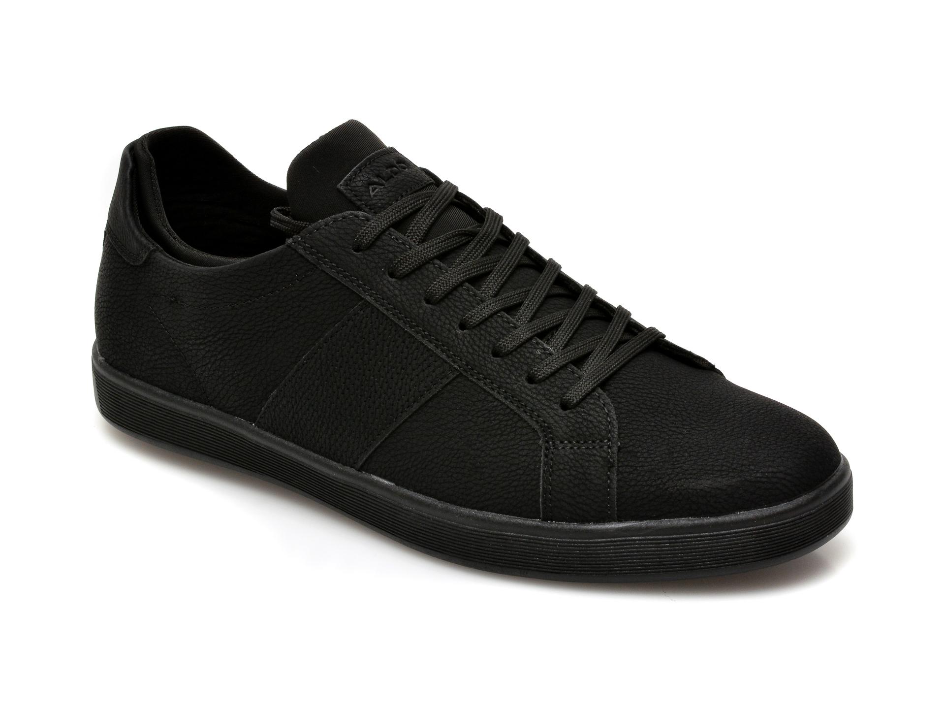 Pantofi ALDO negri, Prayrien001, din piele ecologica imagine