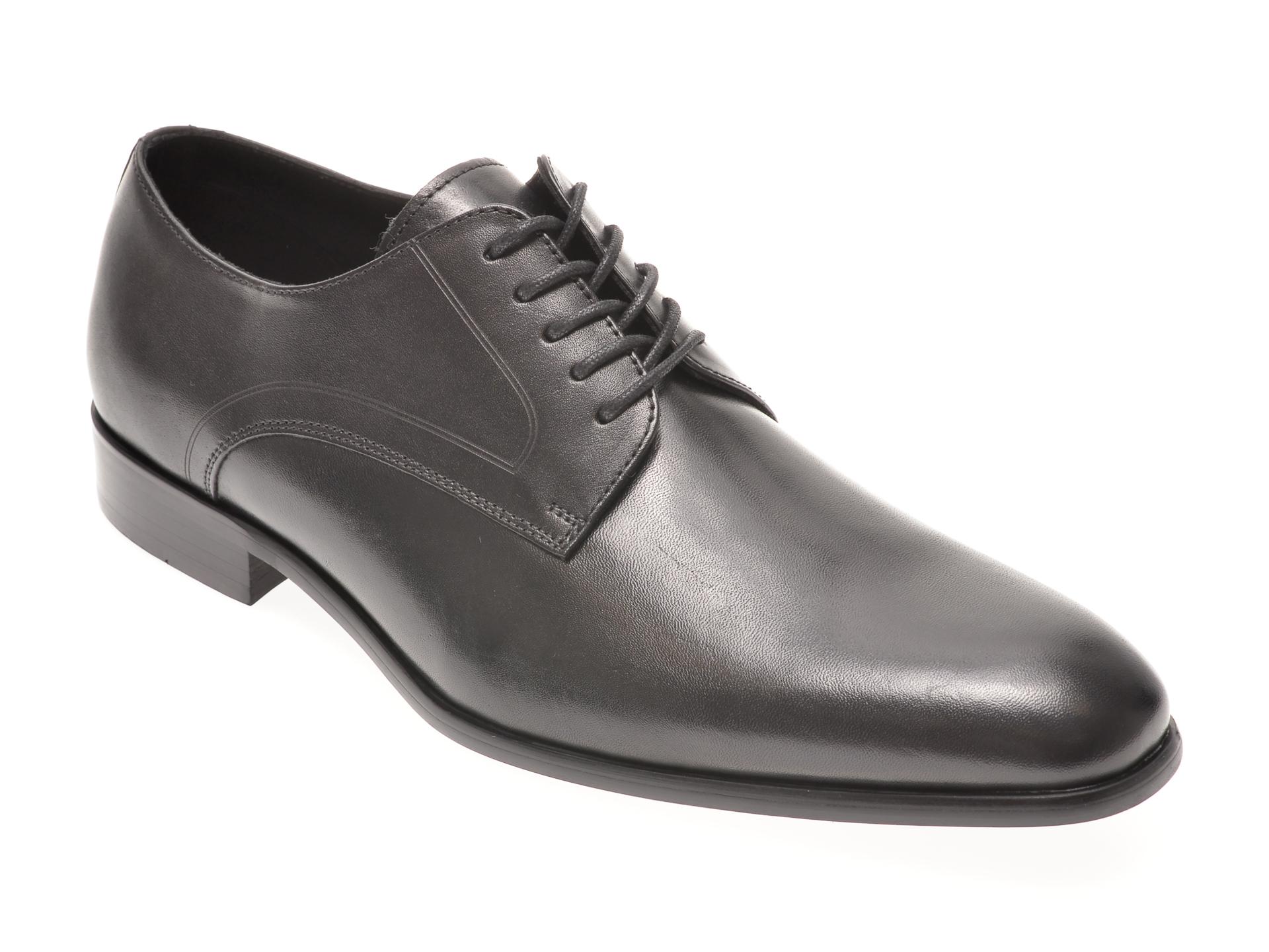 Pantofi ALDO negri, Proven001, din piele naturala imagine