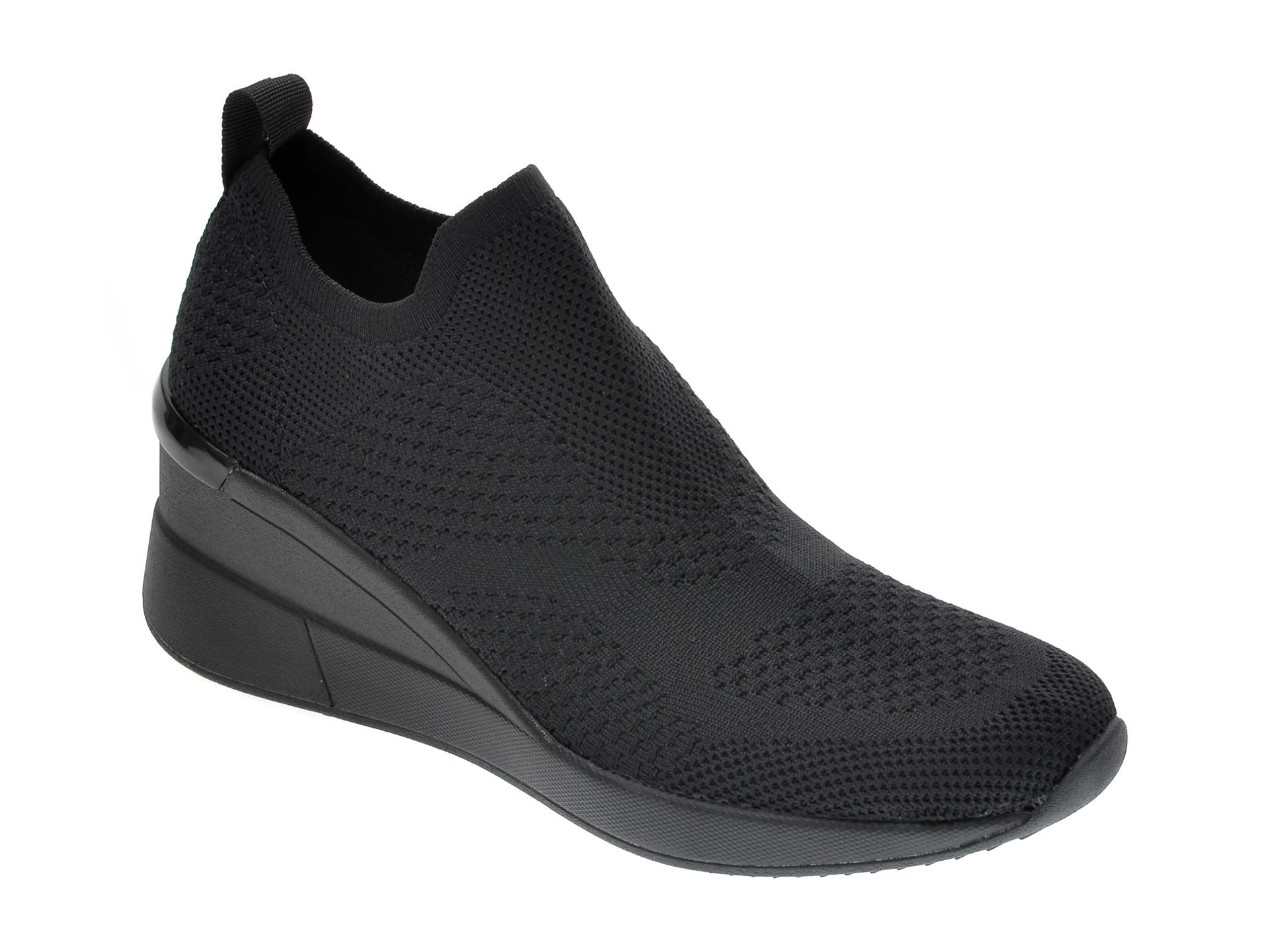 Pantofi ALDO negri, Revicta001, din material textil New