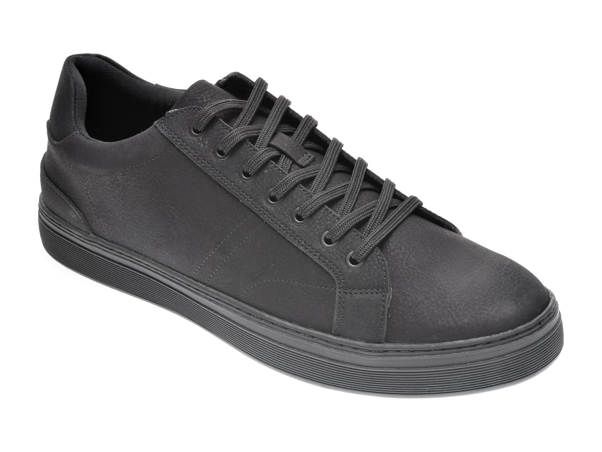 Pantofi ALDO negri, Rex001, din piele ecologica imagine
