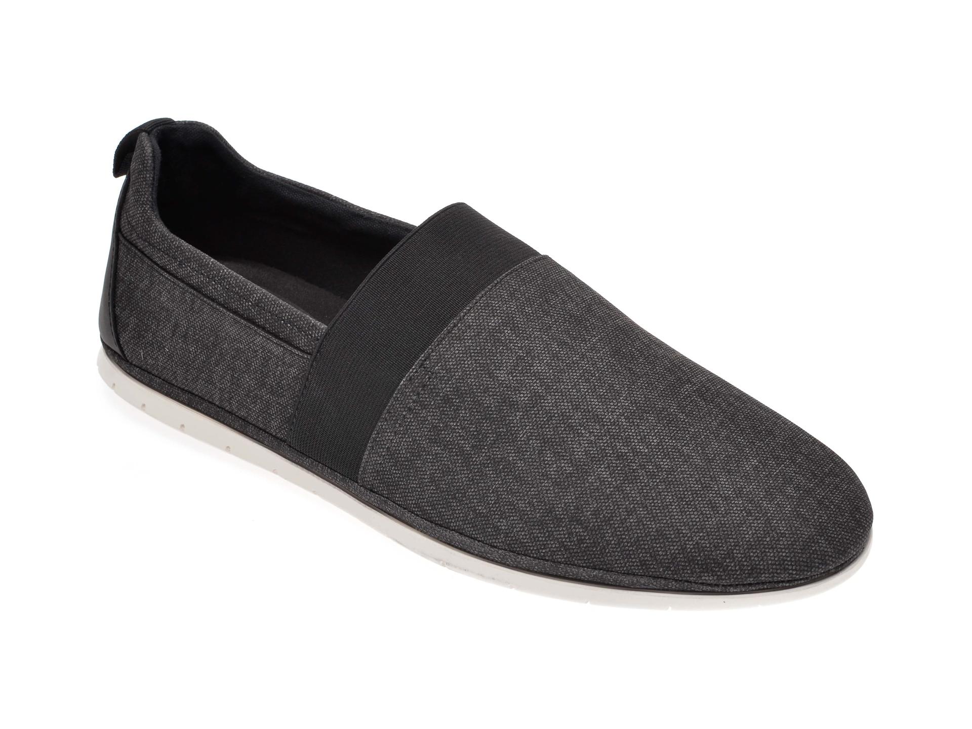 Pantofi ALDO negri, Schoville001, din material textil imagine