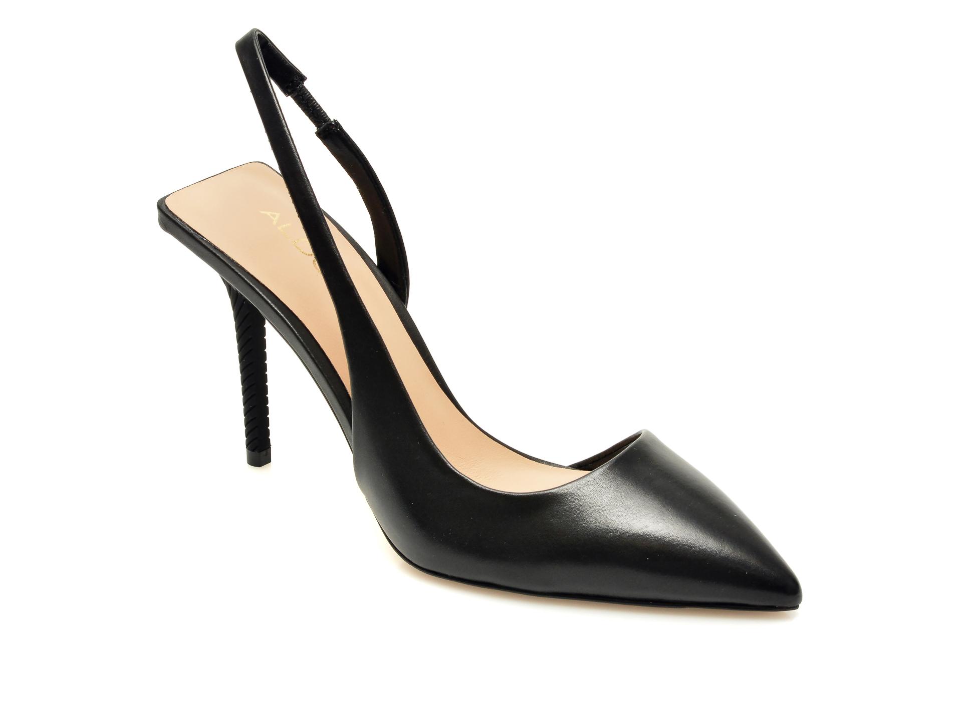 Pantofi ALDO negri, Tirarith001, din piele naturala imagine otter.ro 2021