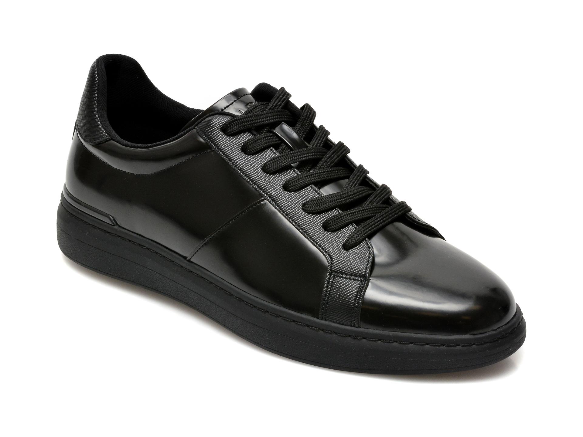 Pantofi ALDO negri, Tosien001, din piele ecologica imagine
