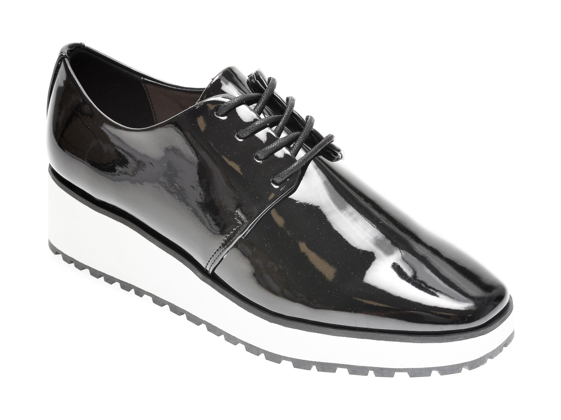 Pantofi ALDO negri, Tux001, din piele ecologica imagine