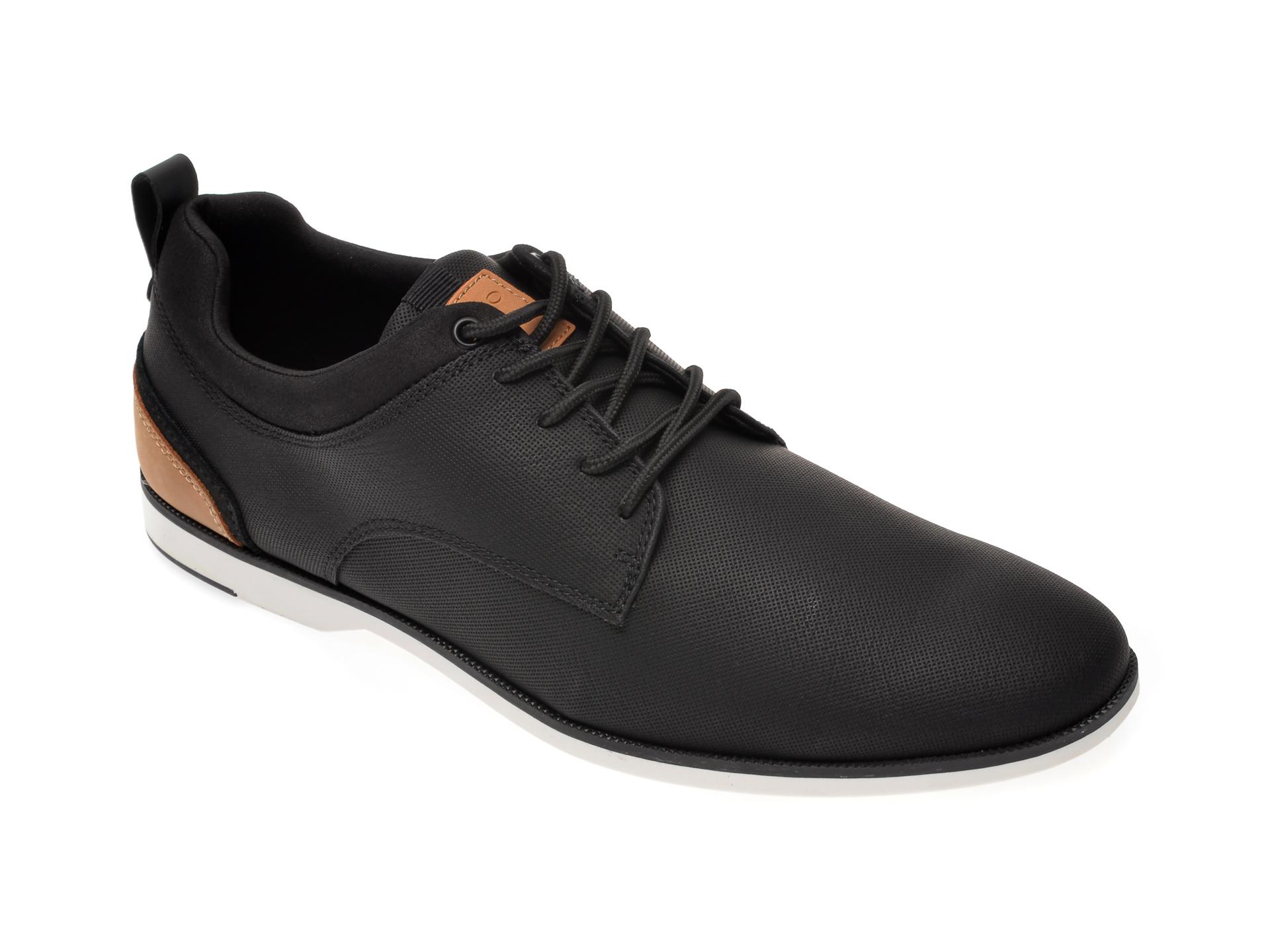 Pantofi ALDO negri, Voedien001, din piele ecologica imagine