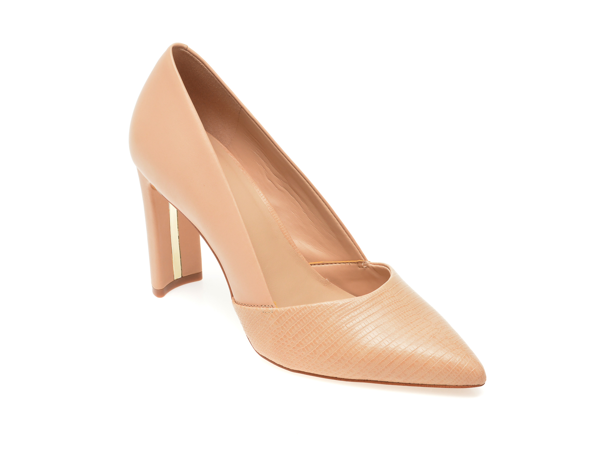 Pantofi ALDO nude, Adworen270, din piele naturala imagine otter.ro 2021