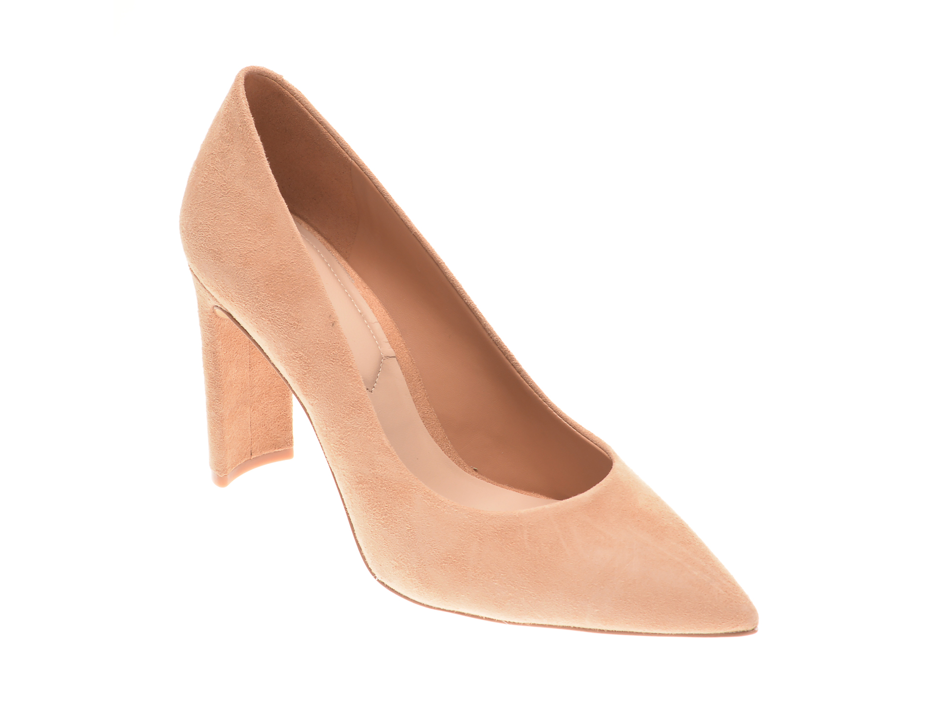 Pantofi ALDO nude, Febriclya260, din piele intoarsa imagine otter.ro 2021