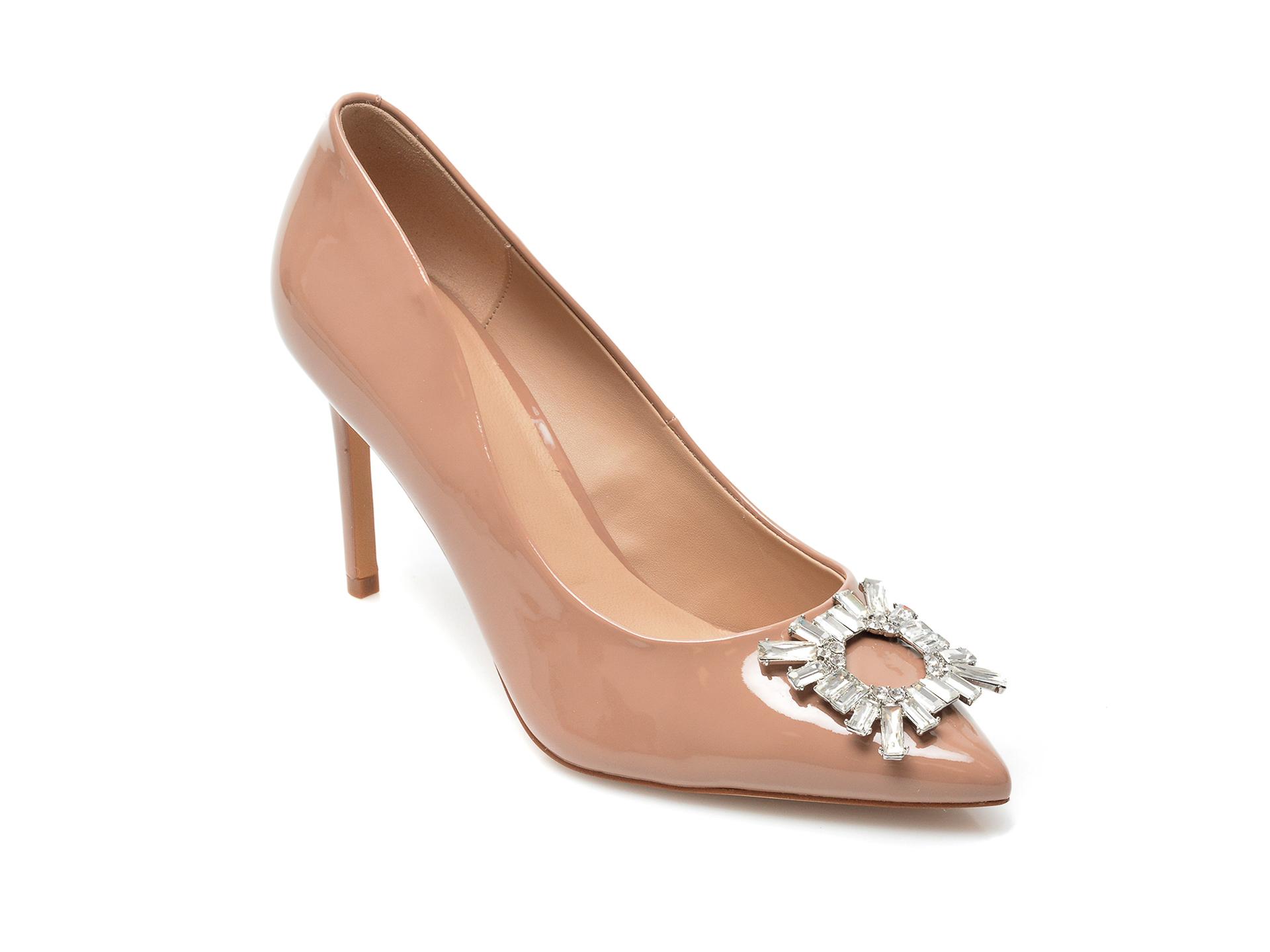 Pantofi ALDO nude, Mahara270, din piele ecologica imagine otter.ro
