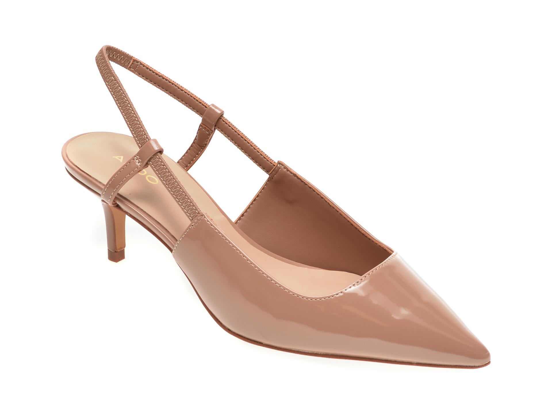 Pantofi ALDO nude, Melica270, din piele ecologica imagine otter.ro