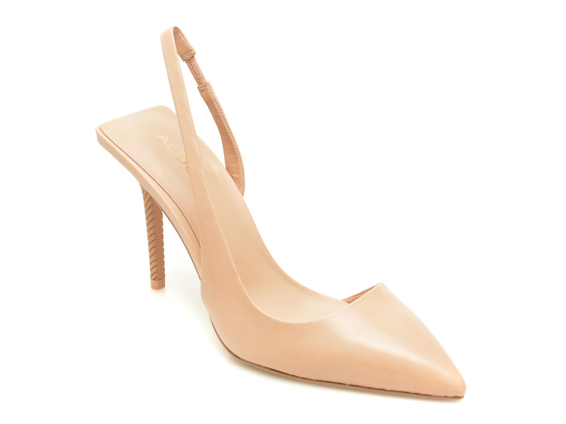 Pantofi ALDO nude, Tirarith270, din piele naturala imagine otter.ro 2021