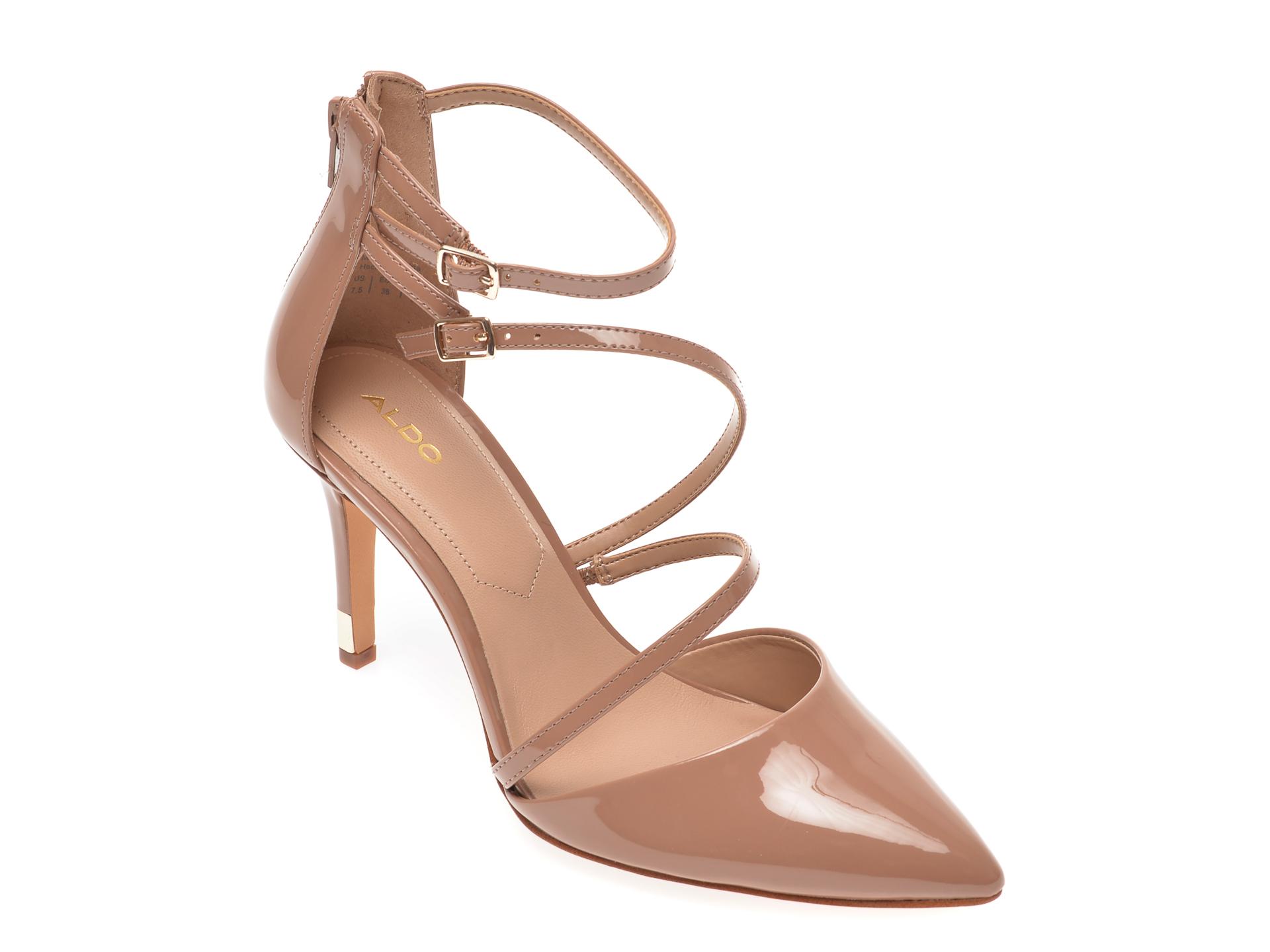 Pantofi ALDO nude, Torga270, din piele ecologica imagine otter.ro